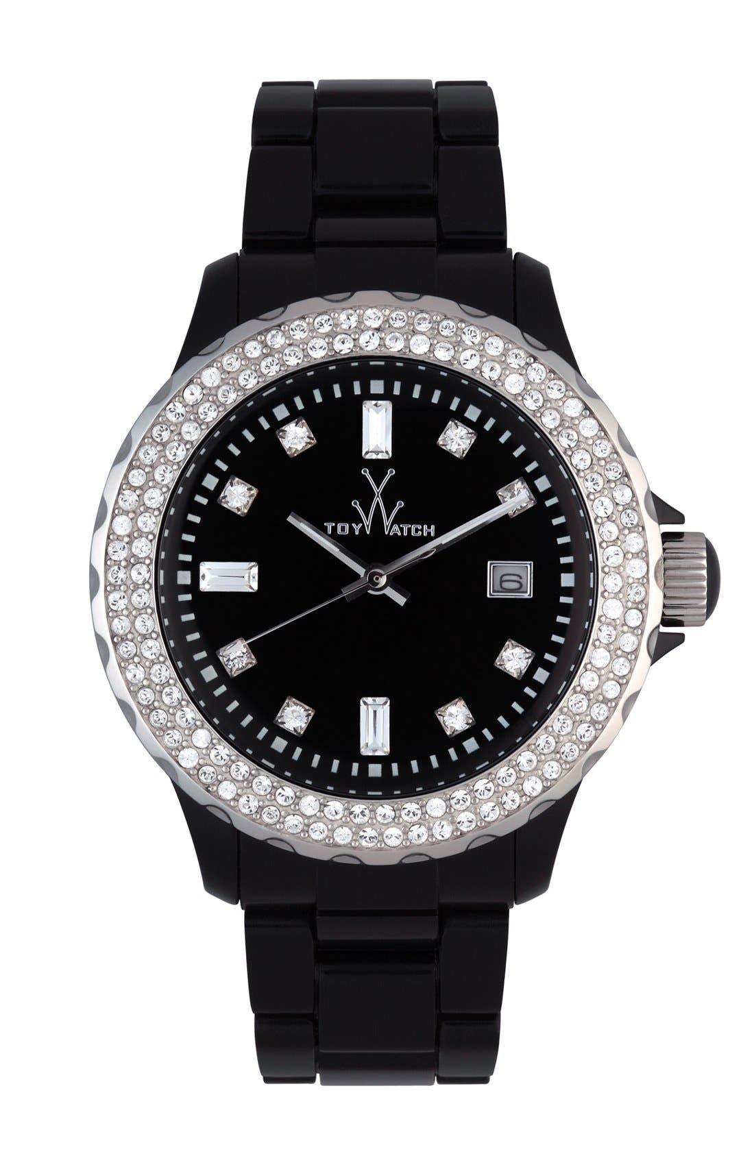 Main Image - TOYWATCH 'Plasteramic' Bracelet Watch, 41mm