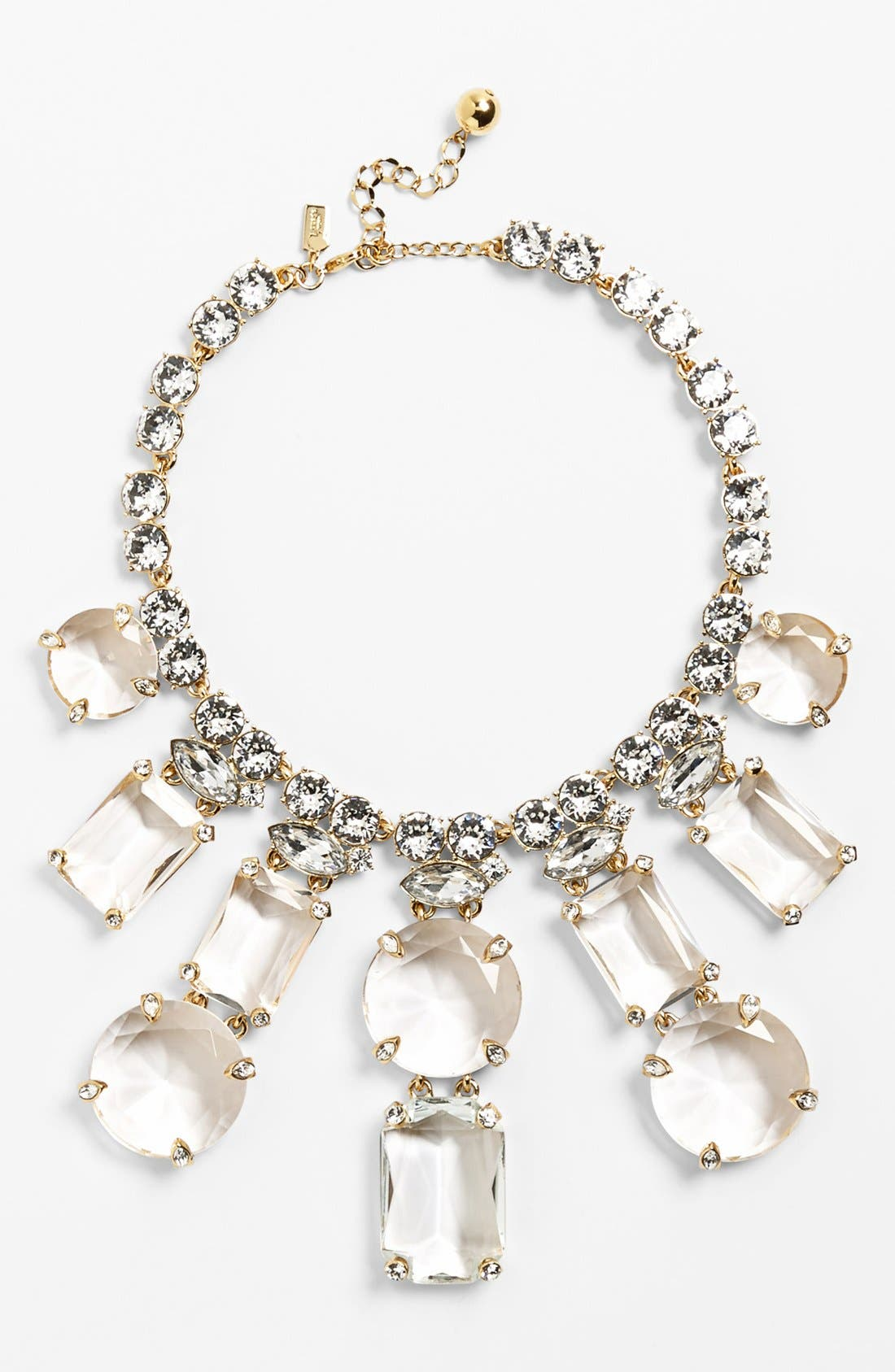 Main Image - kate spade new york 'opening night' crystal statement necklace