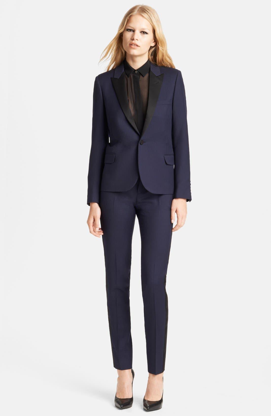 Alternate Image 1 Selected - Saint Laurent Blazer & Pants