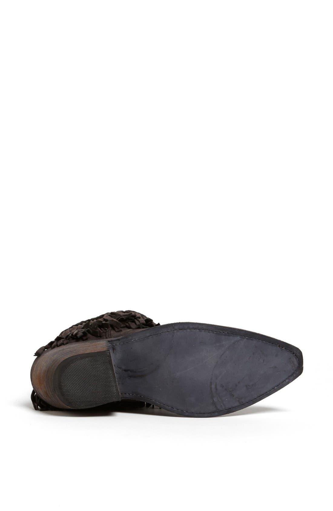 Alternate Image 4  - Liberty Black Fringed Short Boot
