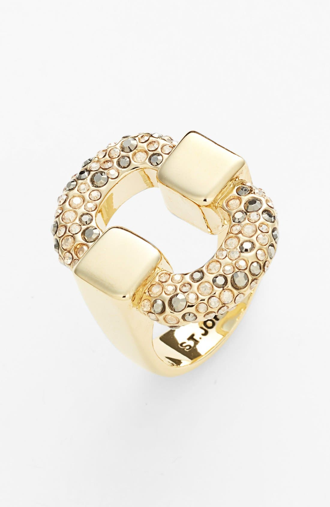 Main Image - St. John Collection Pavé Crystal Ring