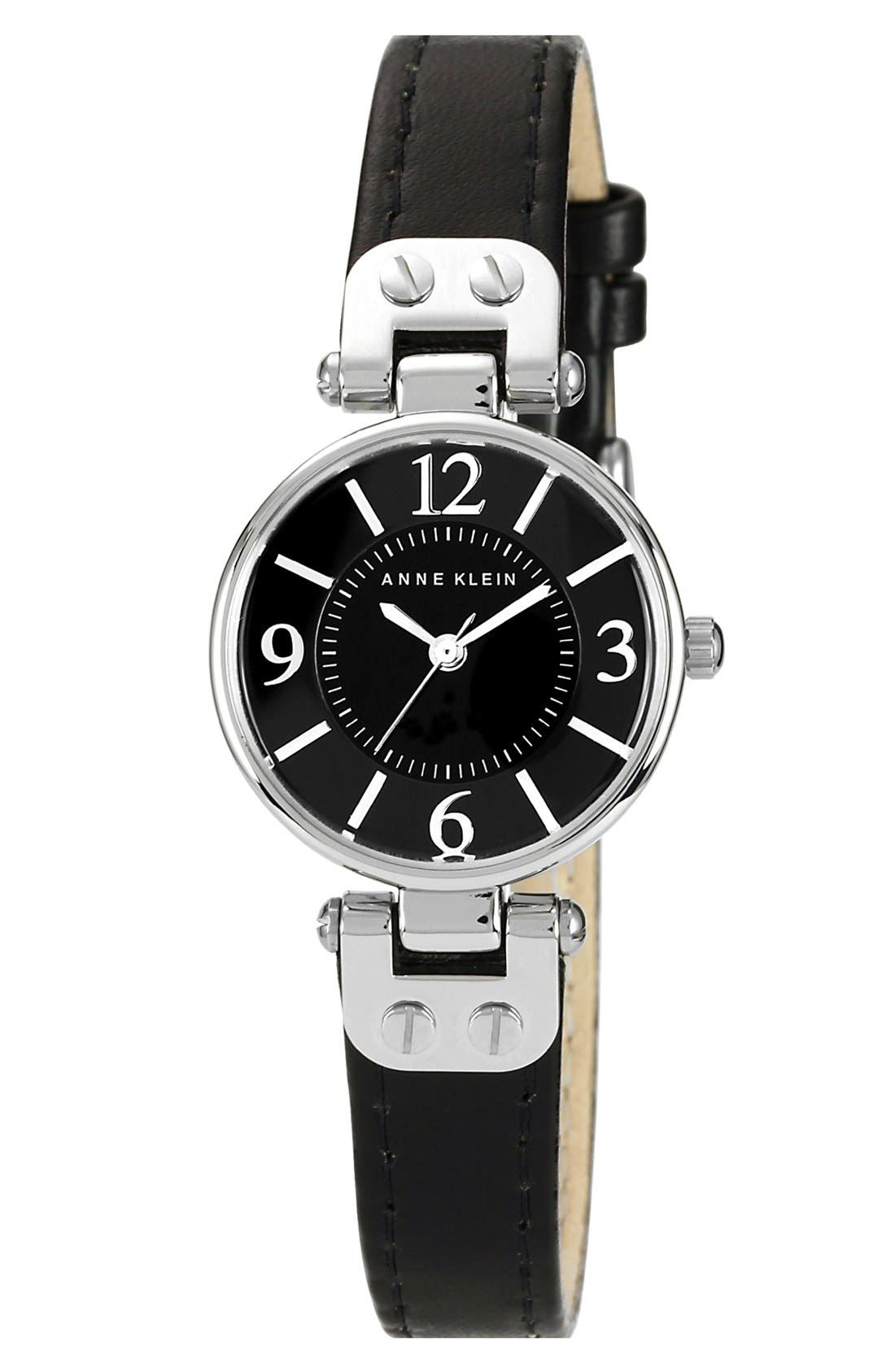 Main Image - Anne Klein Hinge Case Watch, 20mm