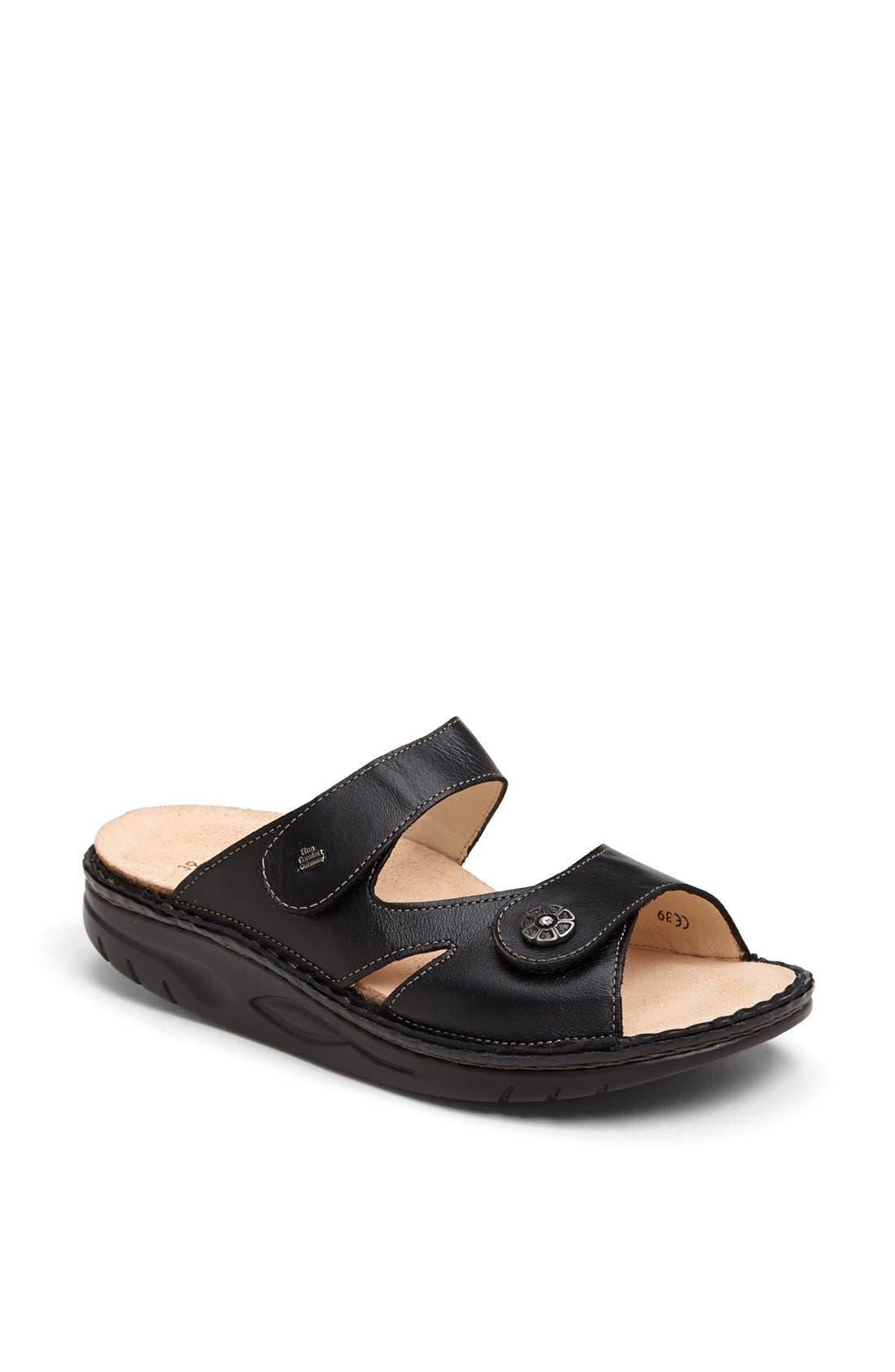 FINNAMIC by Finn Comfort 'Sanaa' Walking Sandal,                             Main thumbnail 1, color,                             Black