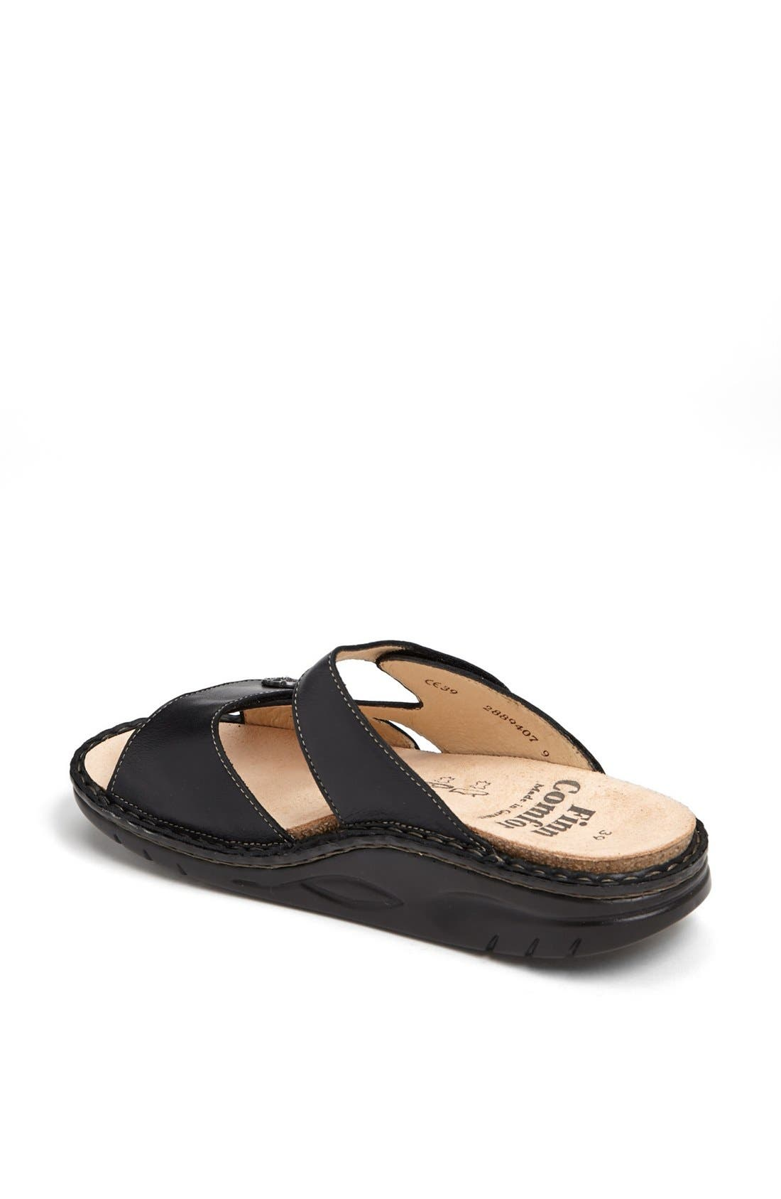 FINNAMIC by Finn Comfort 'Sanaa' Walking Sandal,                             Alternate thumbnail 2, color,                             Black