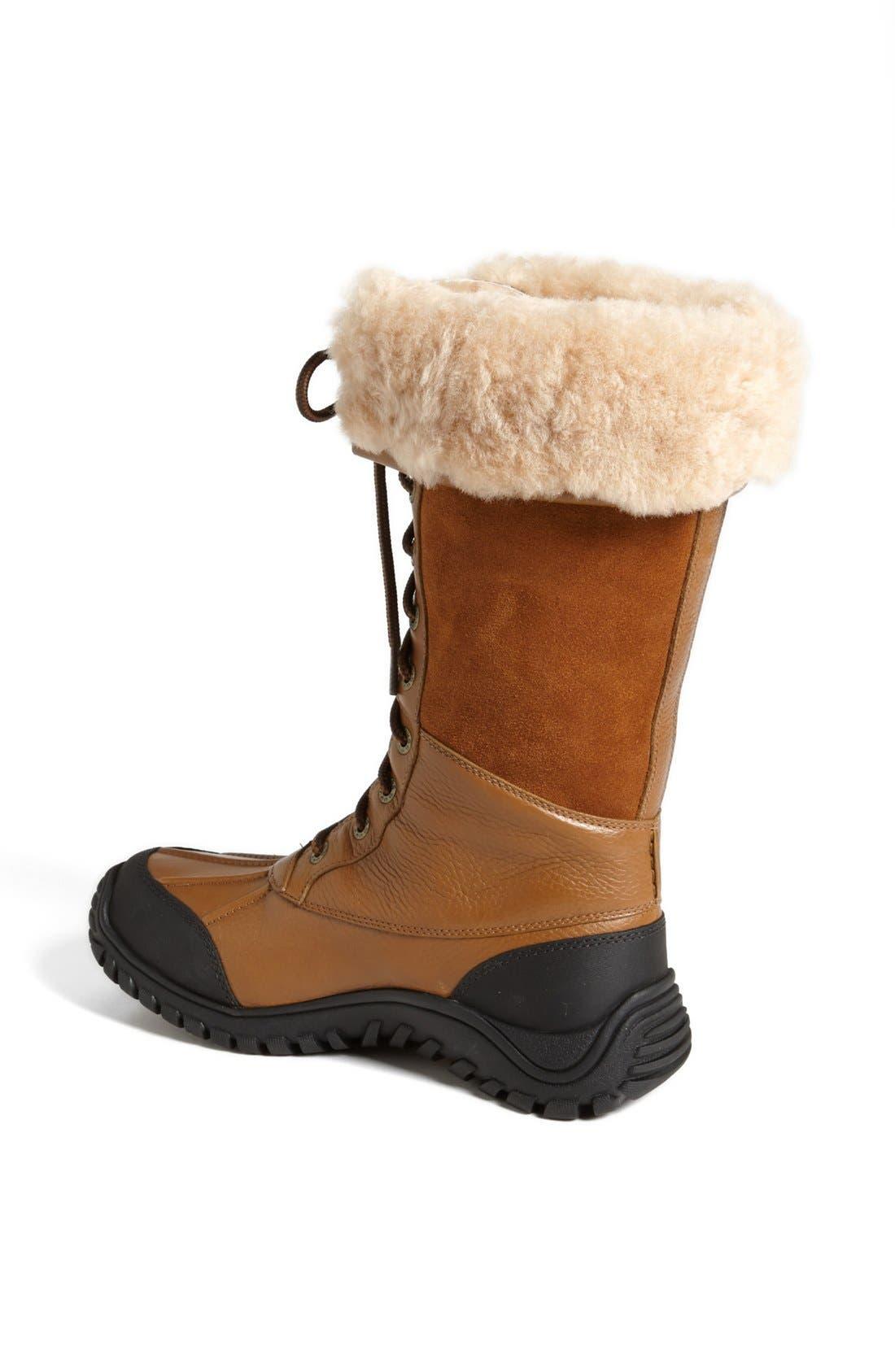 Alternate Image 2  - UGG® Adirondack Waterproof Tall Boot (Women)