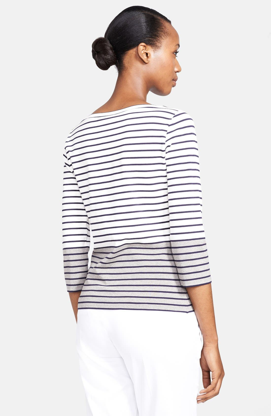 Alternate Image 2  - Max Mara 'Minetta' Stripe Jersey Top