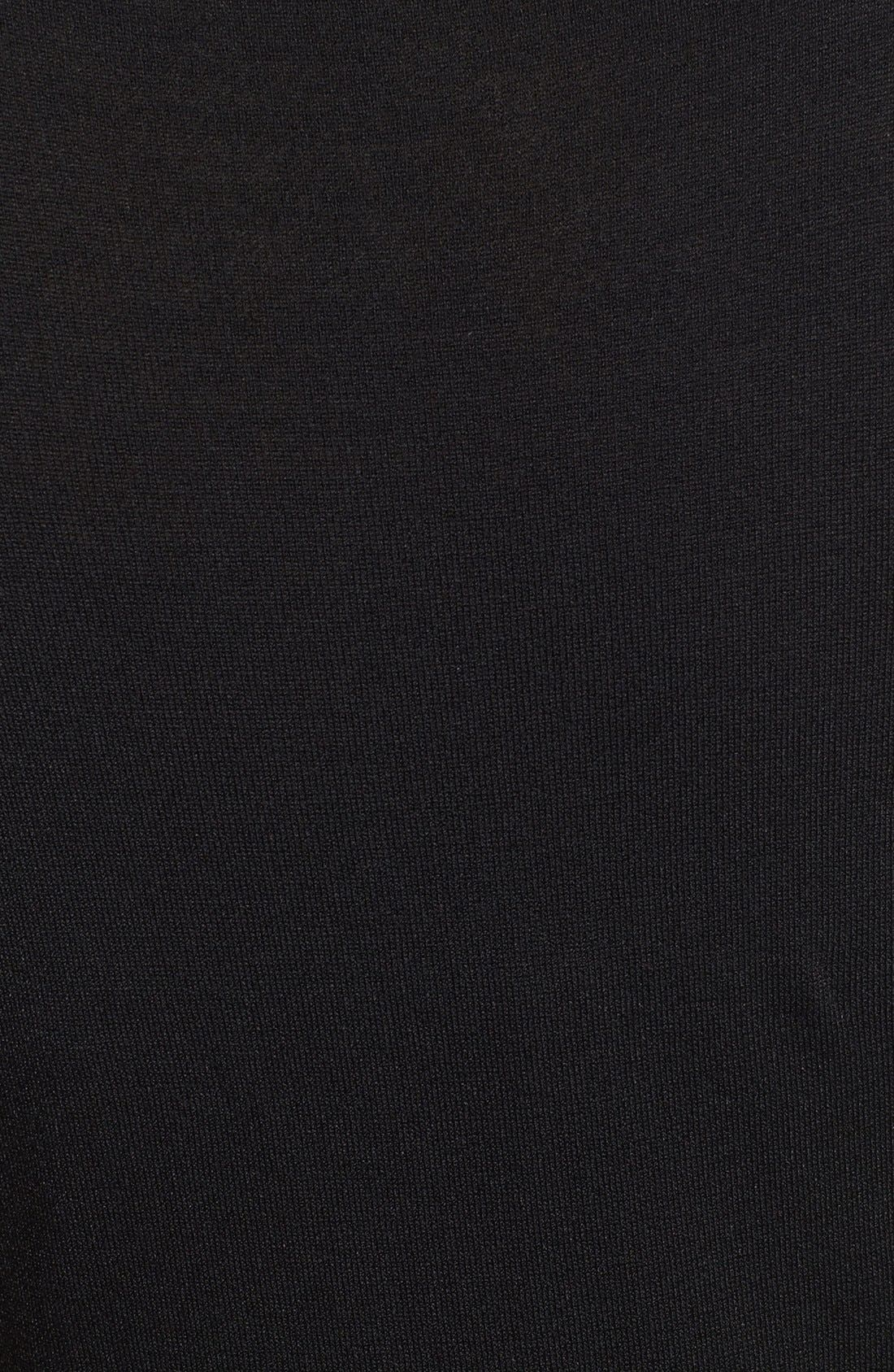 Alternate Image 3  - Chaus Faux Leather Trim Dress