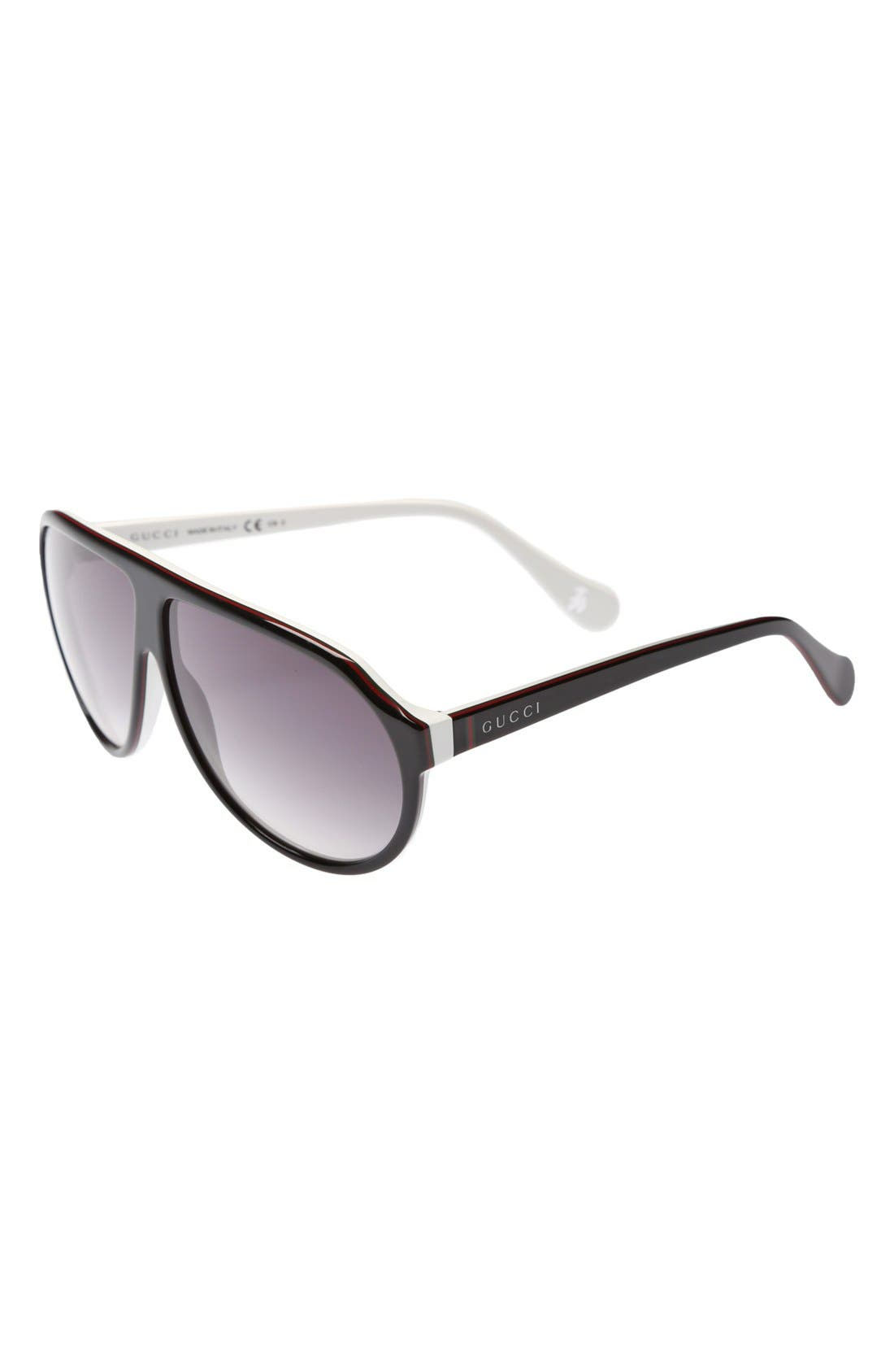 Alternate Image 1 Selected - Gucci Aviator Sunglasses (Kids)