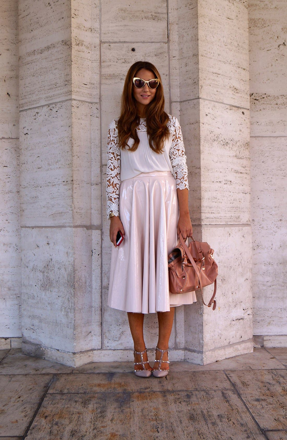 Alternate Image 1 Selected - Anytime Lace Street Style Look