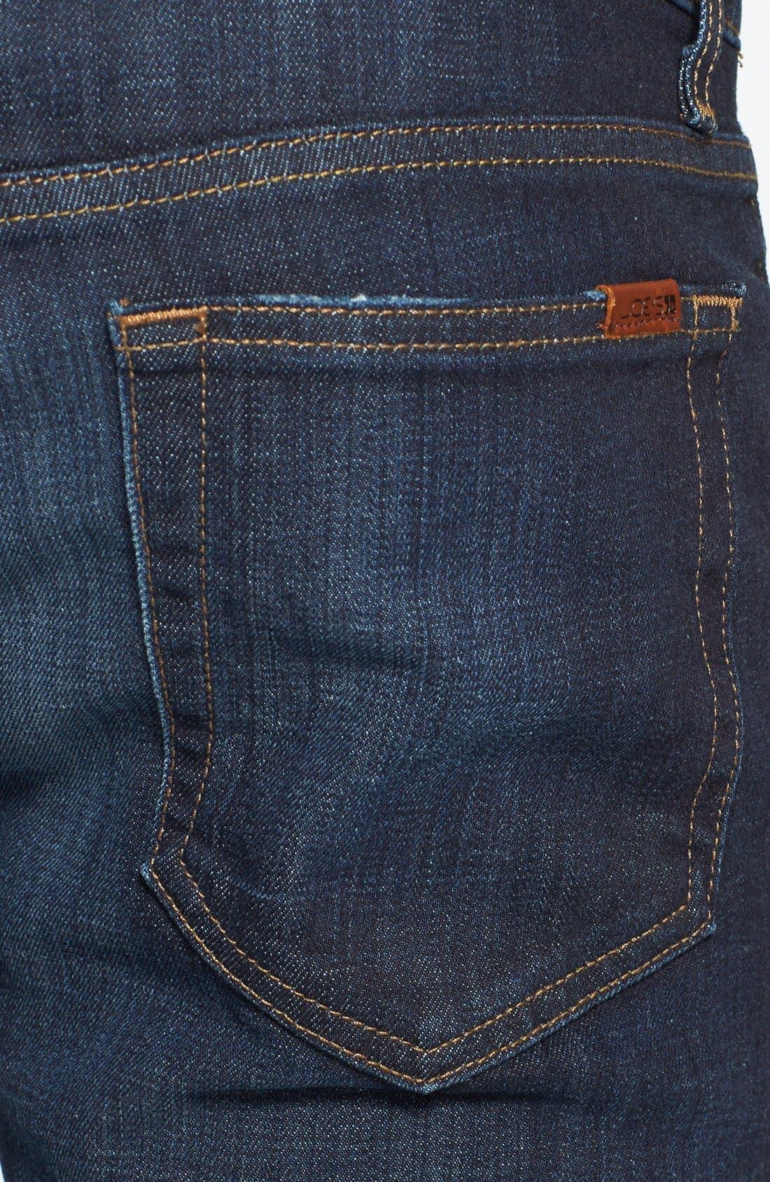 Alternate Image 4  - Joe's 'Slim' Skinny Fit Jeans (Hunter)