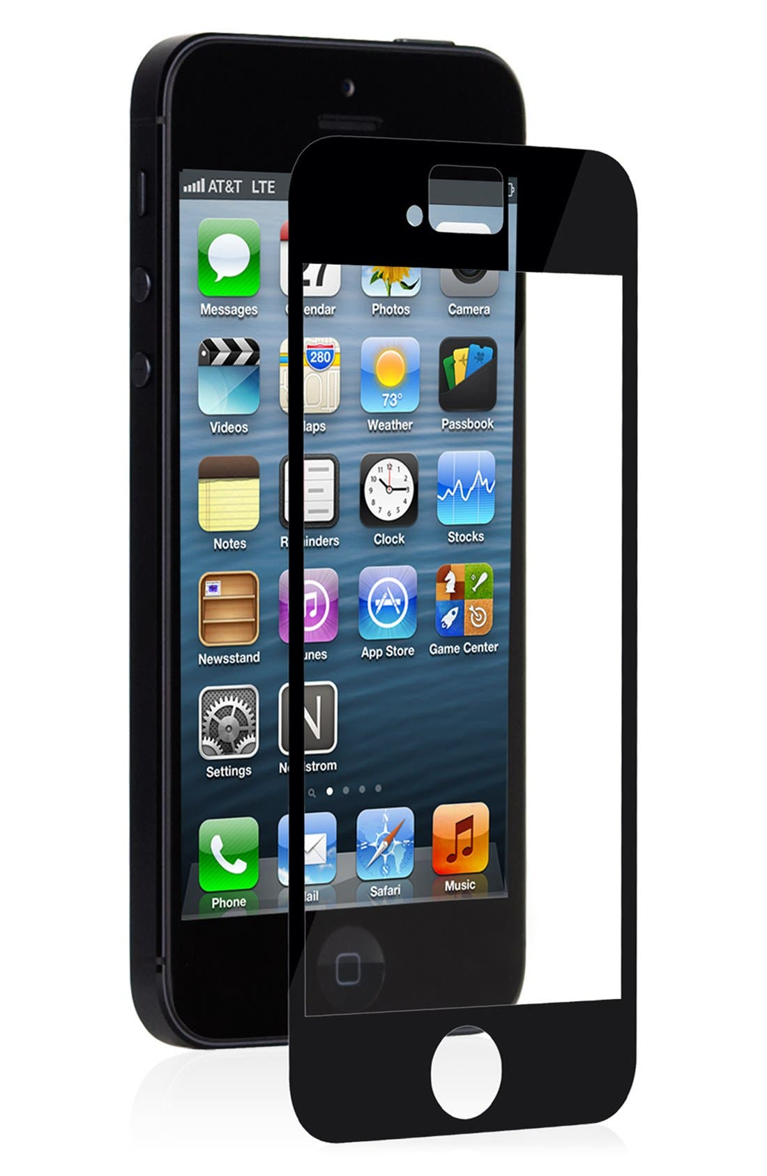 Alternate Image 1 Selected - Moshi 'iVisor' iPhone 5 & 5s Screen Protector