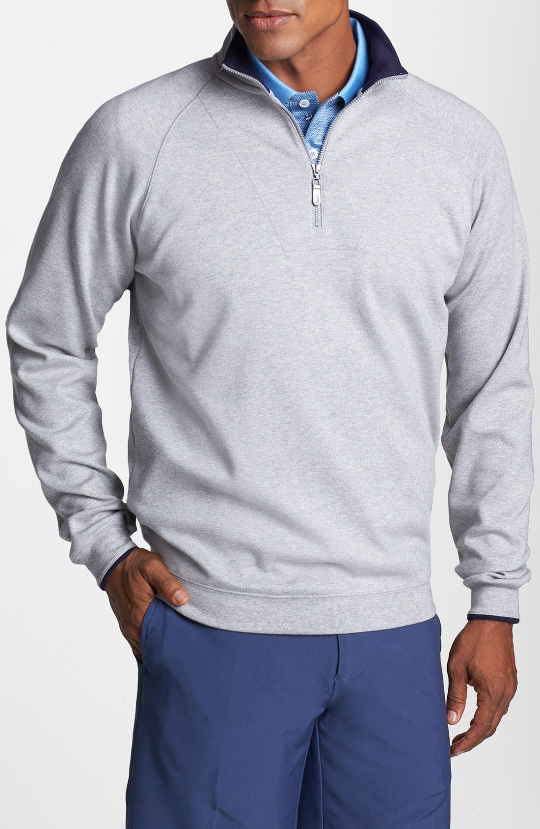 Alternate Image 1 Selected - Bobby Jones 'Competition' Half Zip Pullover