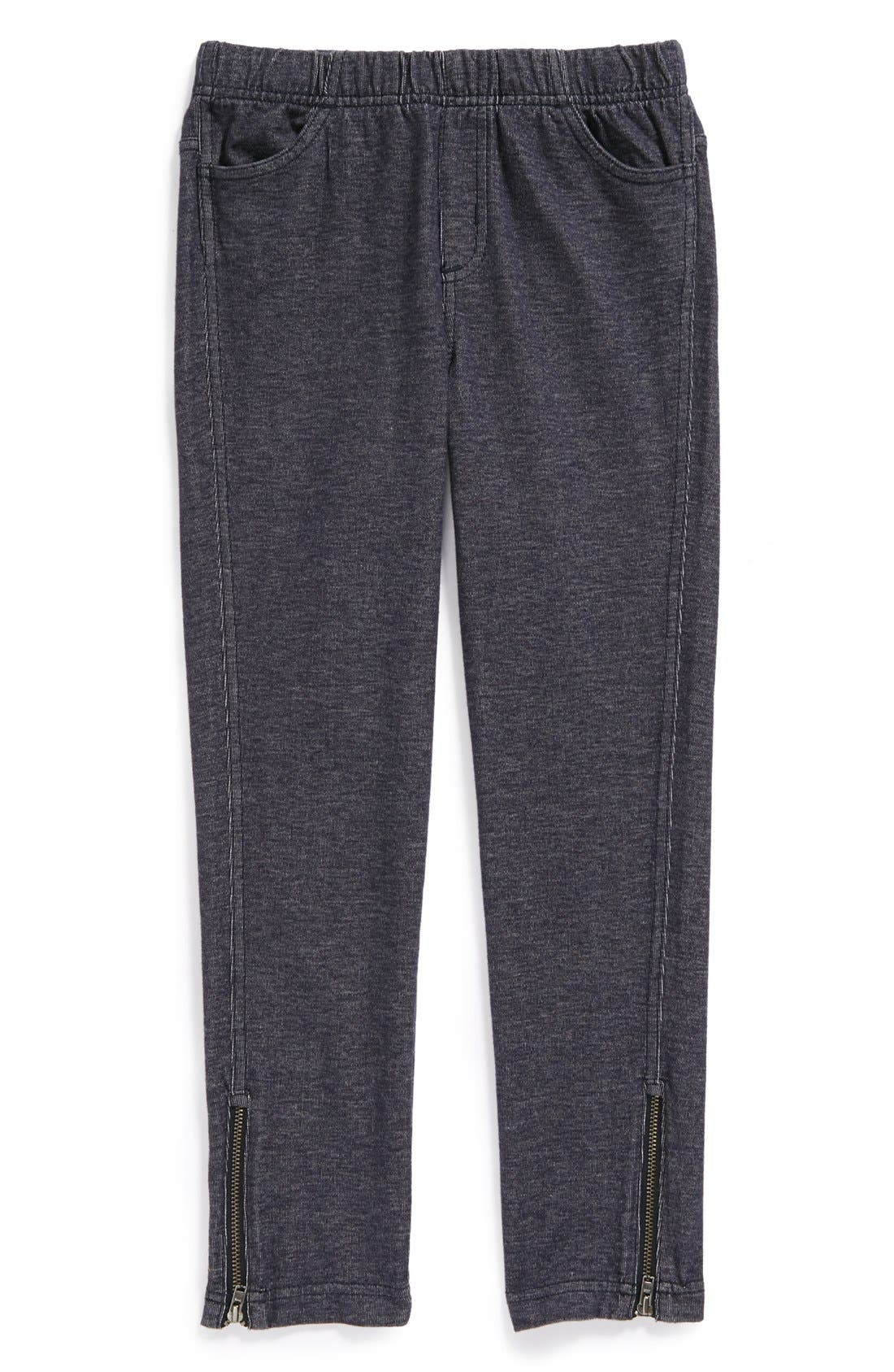 Main Image - Tea Collection Knit Skinny Leg Pants (Little Girls & Big Girls)