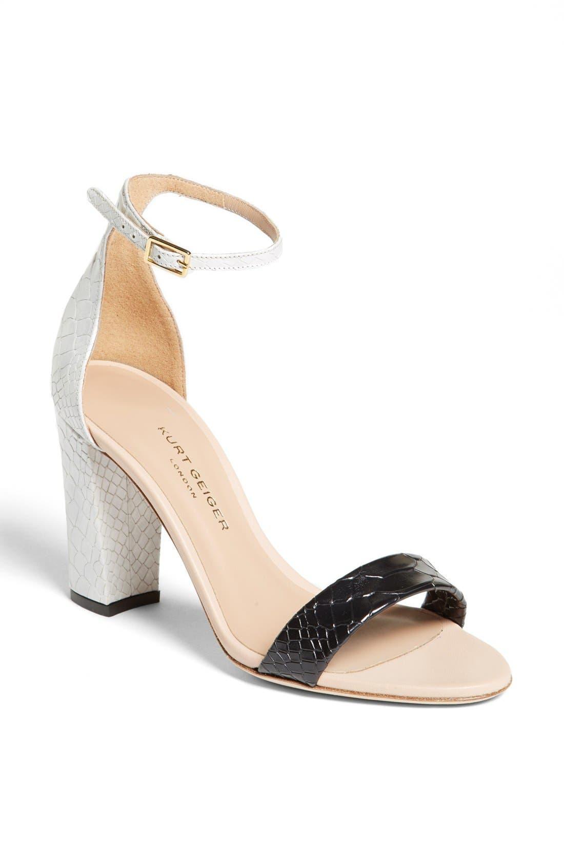 Alternate Image 1 Selected - Kurt Geiger London 'Isabella' Sandal