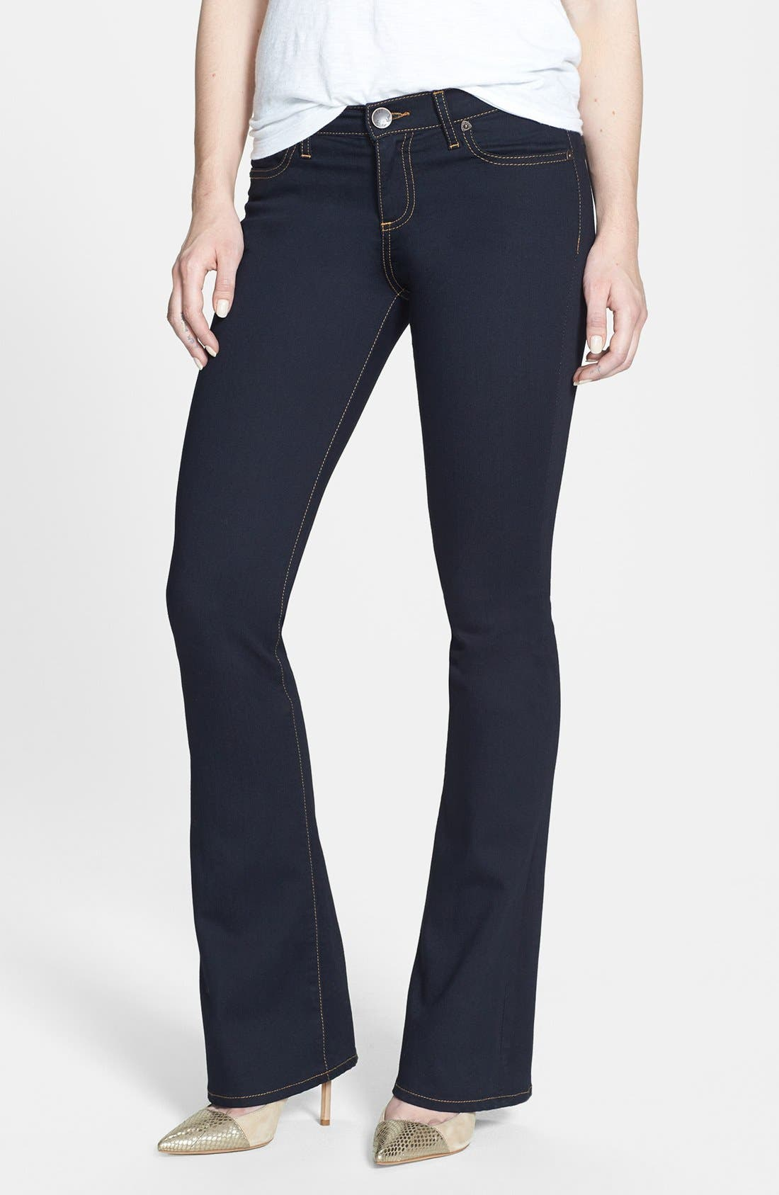 Alternate Image 1 Selected - KUT from the Kloth 'Michelle' Stretch Slim Bootcut Jeans