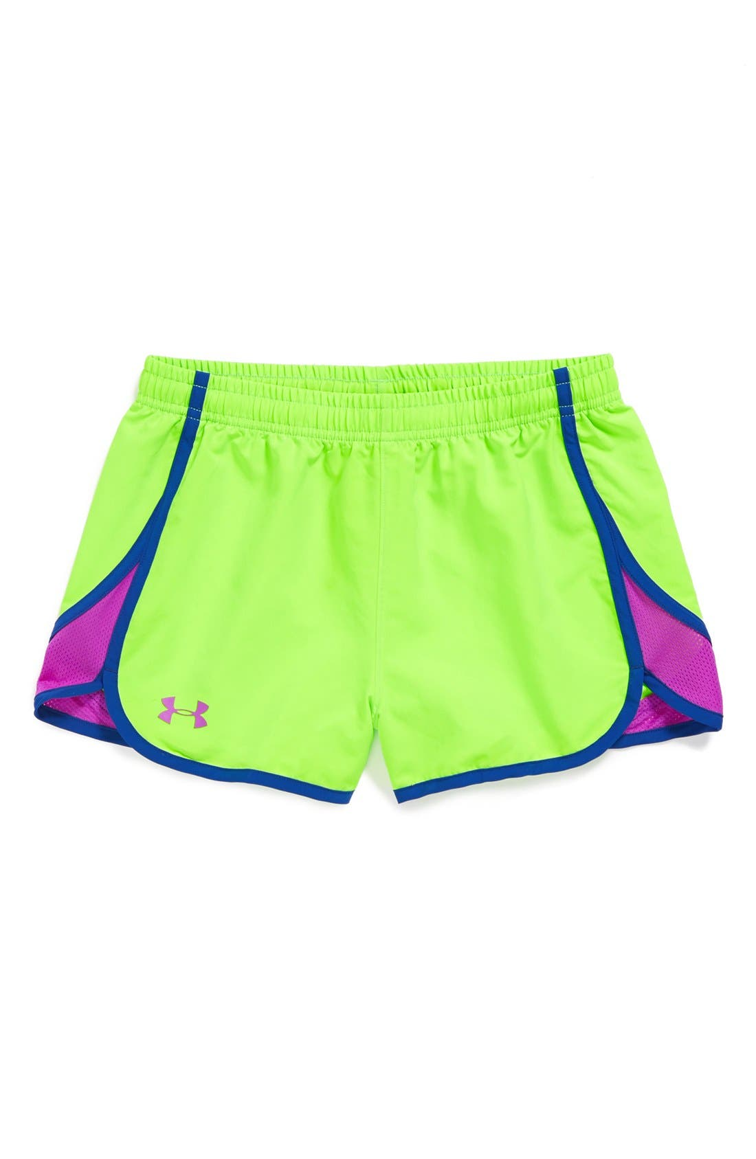 Main Image - Under Armour 'Escape In' Shorts (Big Girls)