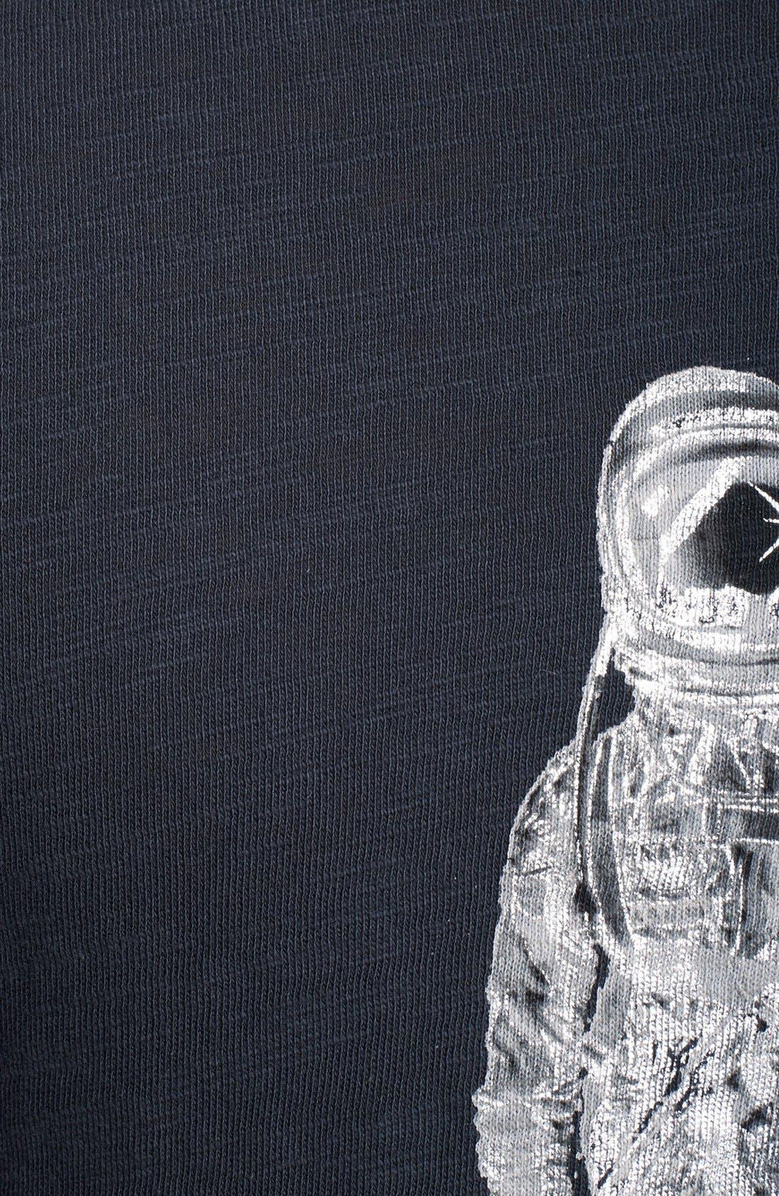 Alternate Image 3  - rag & bone 'Spaceman' Graphic Crewneck Pocket T-Shirt