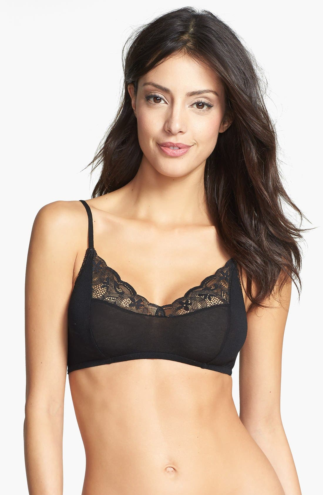Alternate Image 1 Selected - Only Hearts 'Featherweight' Lace Bralette