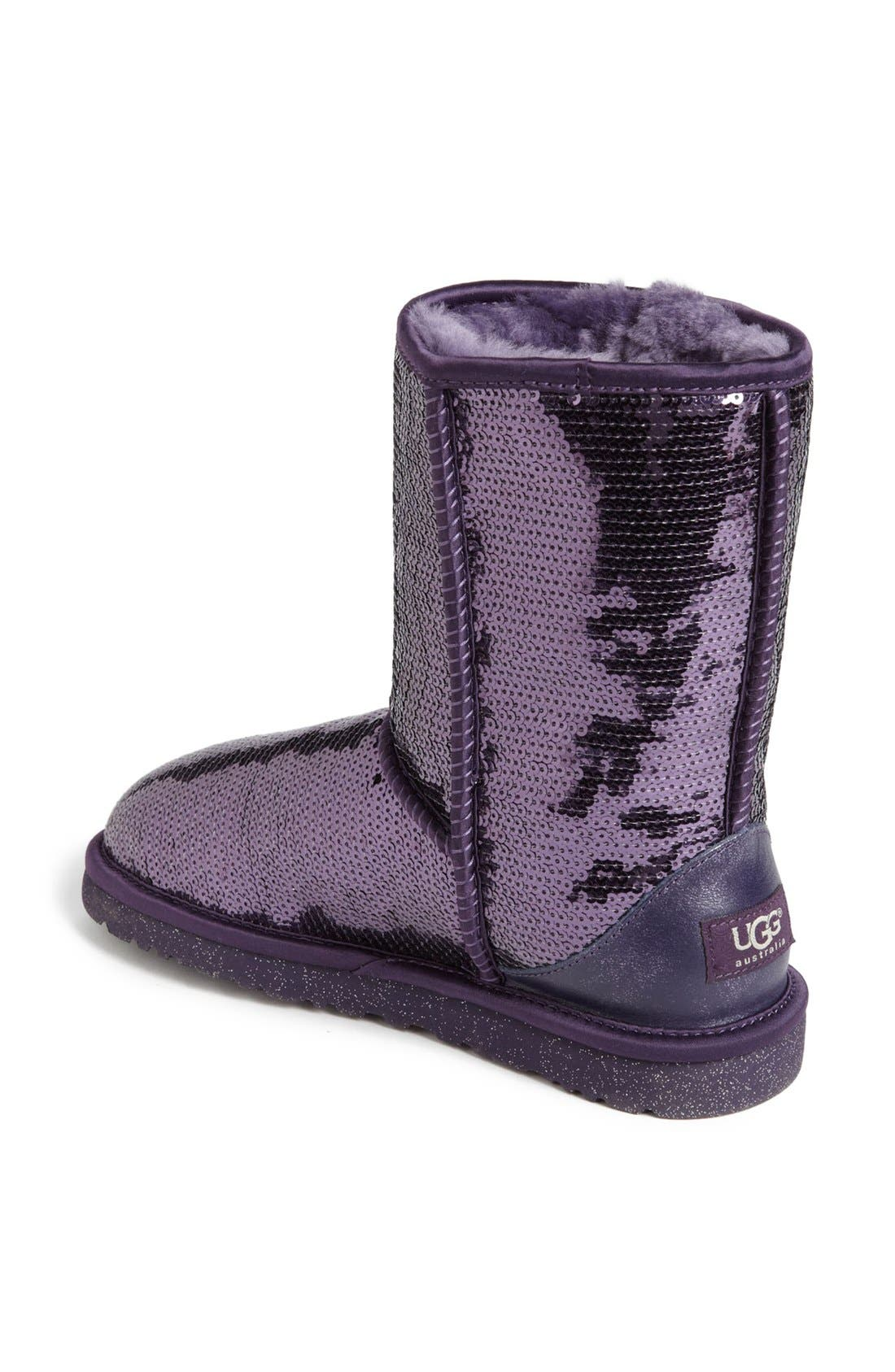 Alternate Image 2  - UGG® Australia 'Classic Short Sparkle' Boot (Women)