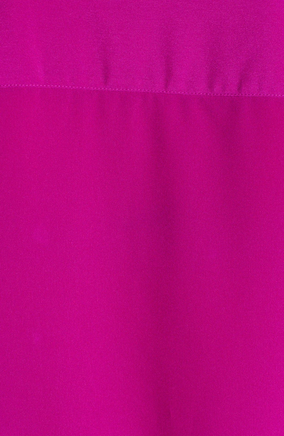 Alternate Image 3  - Anne Klein V-Neck Shirt (Petite)