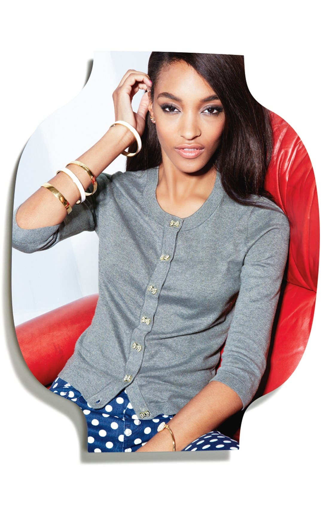 Alternate Image 1 Selected - kate spade new york cardigan & jeans