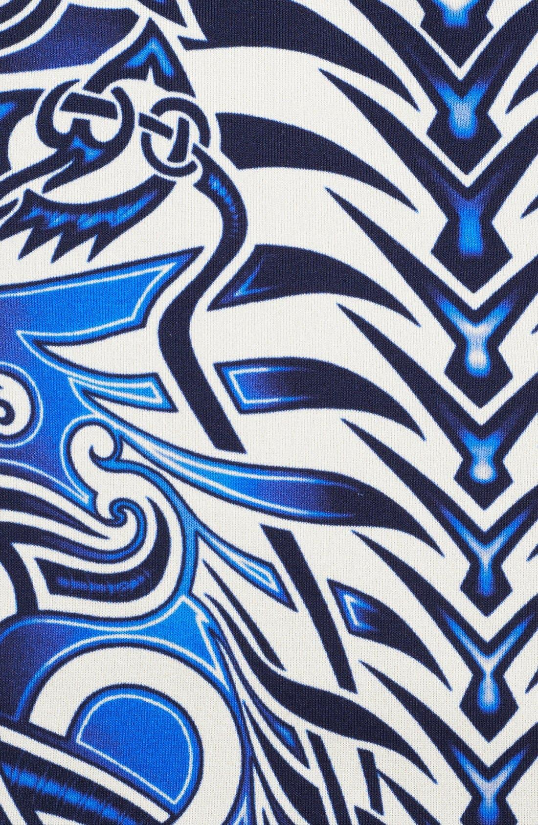 Alternate Image 3  - Jean Paul Gaultier Tattoo Print Tulle & Jersey Dress