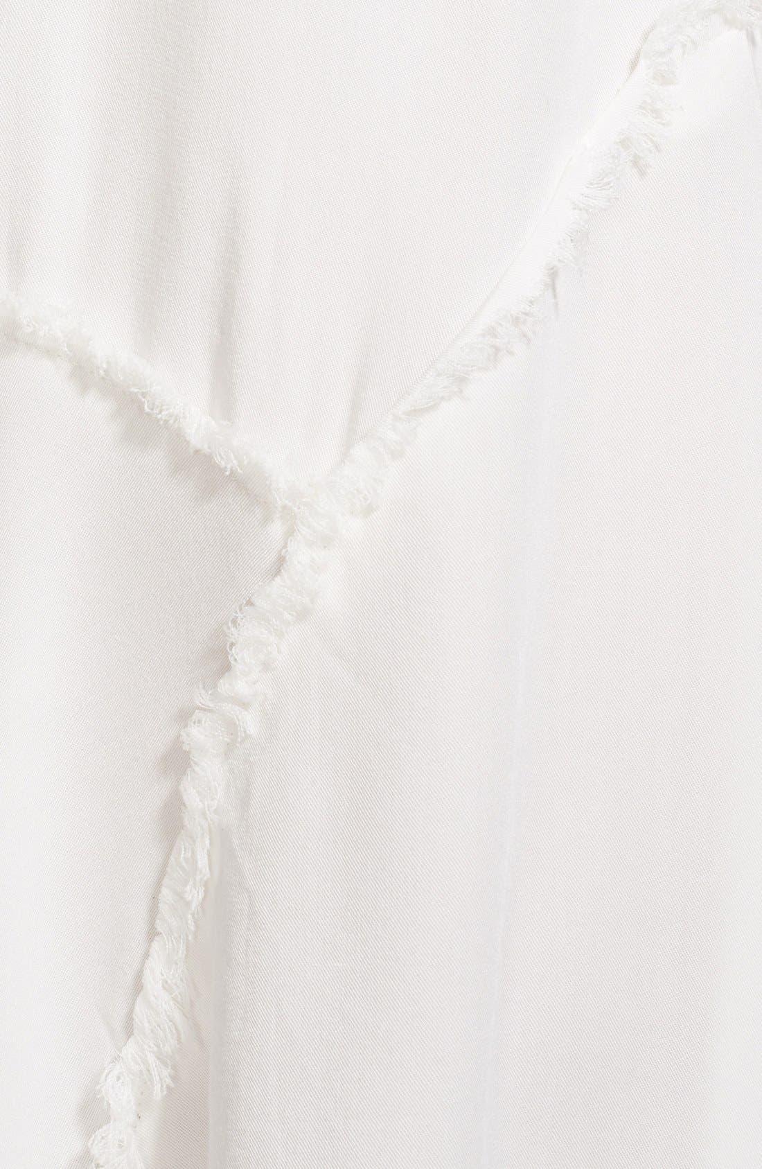 Alternate Image 3  - Free People 'Tattered Up' Shredded Trim Slipdress