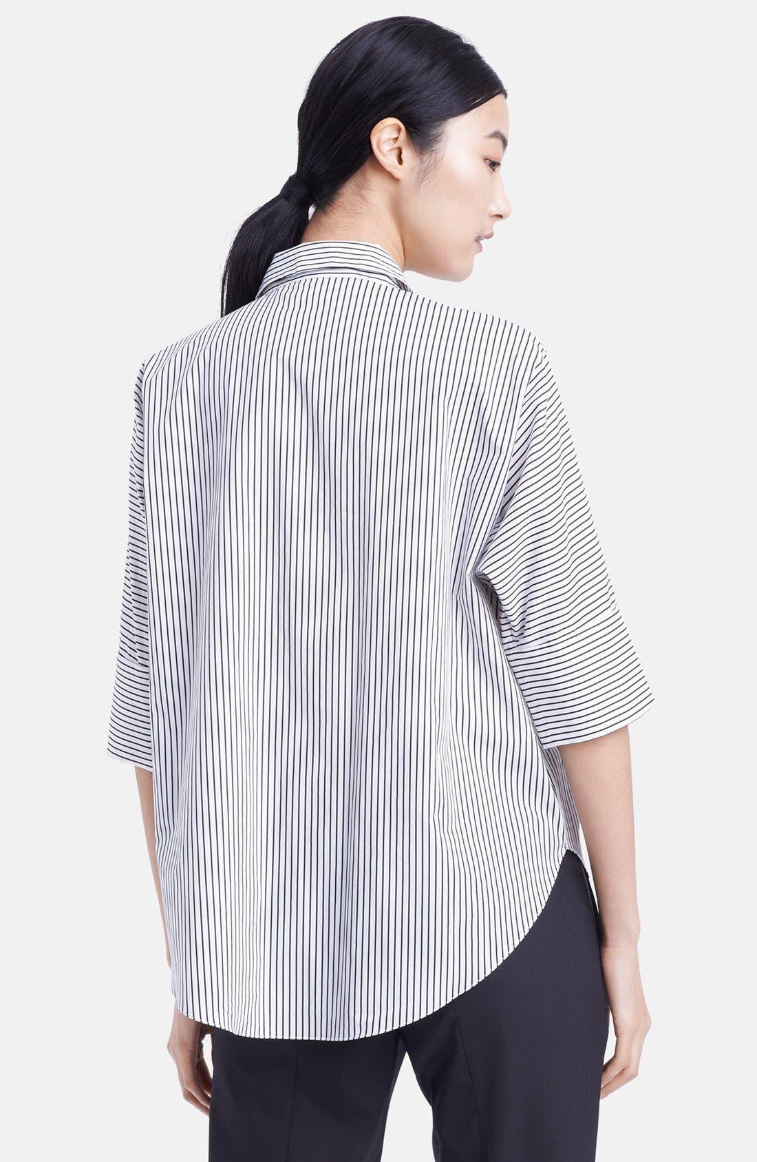 Alternate Image 2  - Marni Stripe Cotton Blouse
