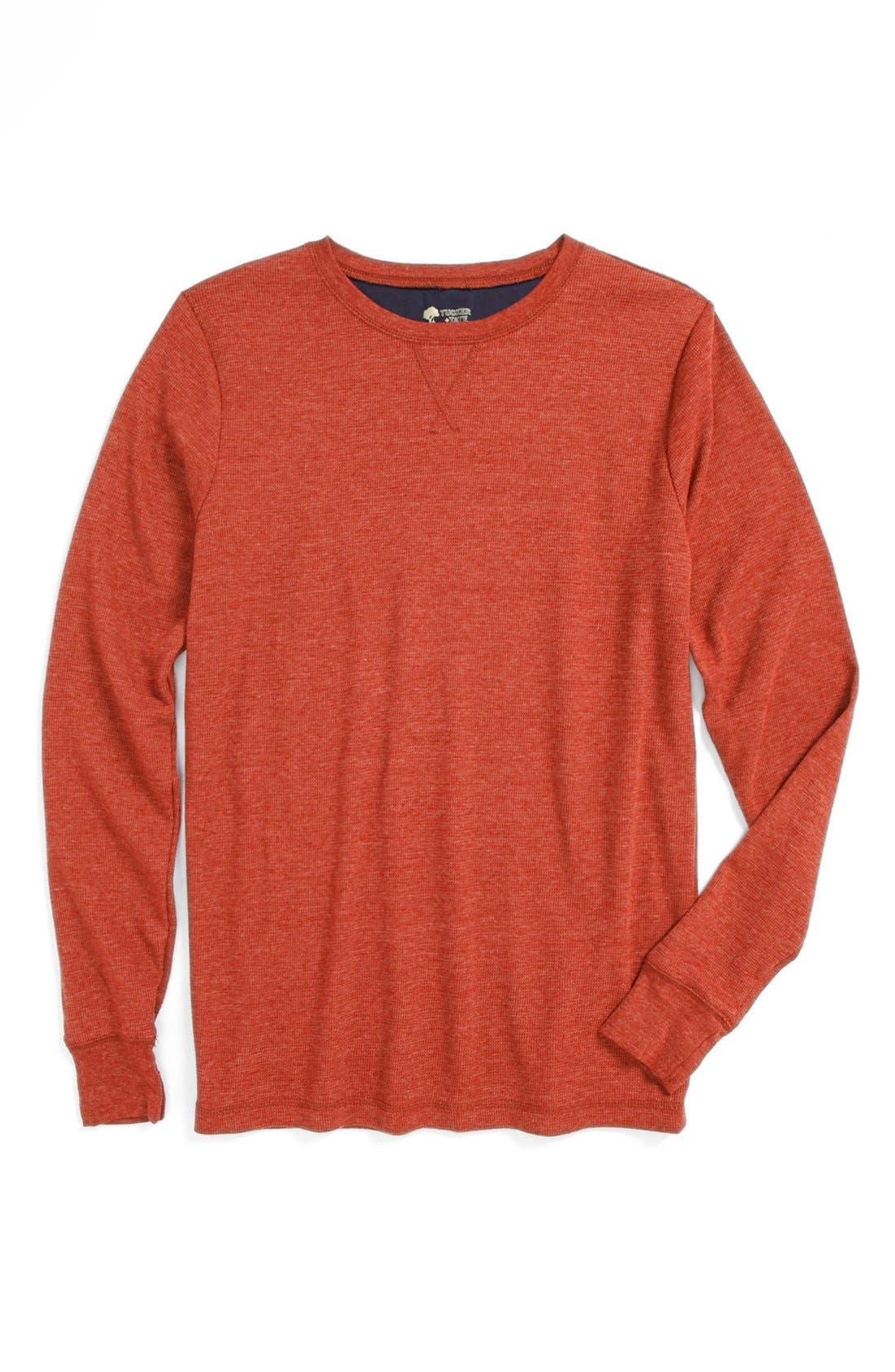 Alternate Image 1 Selected - Tucker + Tate 'Sultan' Long Sleeve Thermal T-Shirt (Little Boys)