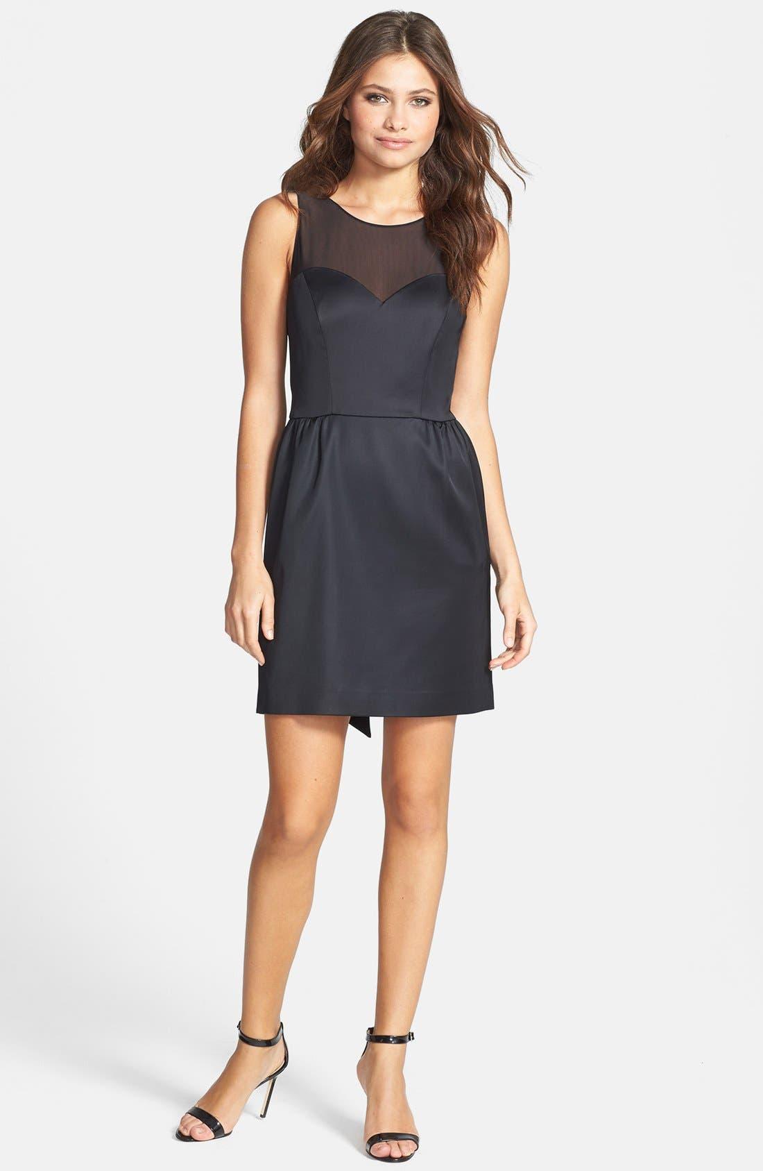 Alternate Image 1 Selected - ERIN erin fetherston 'Winona' Stretch Satin Dress