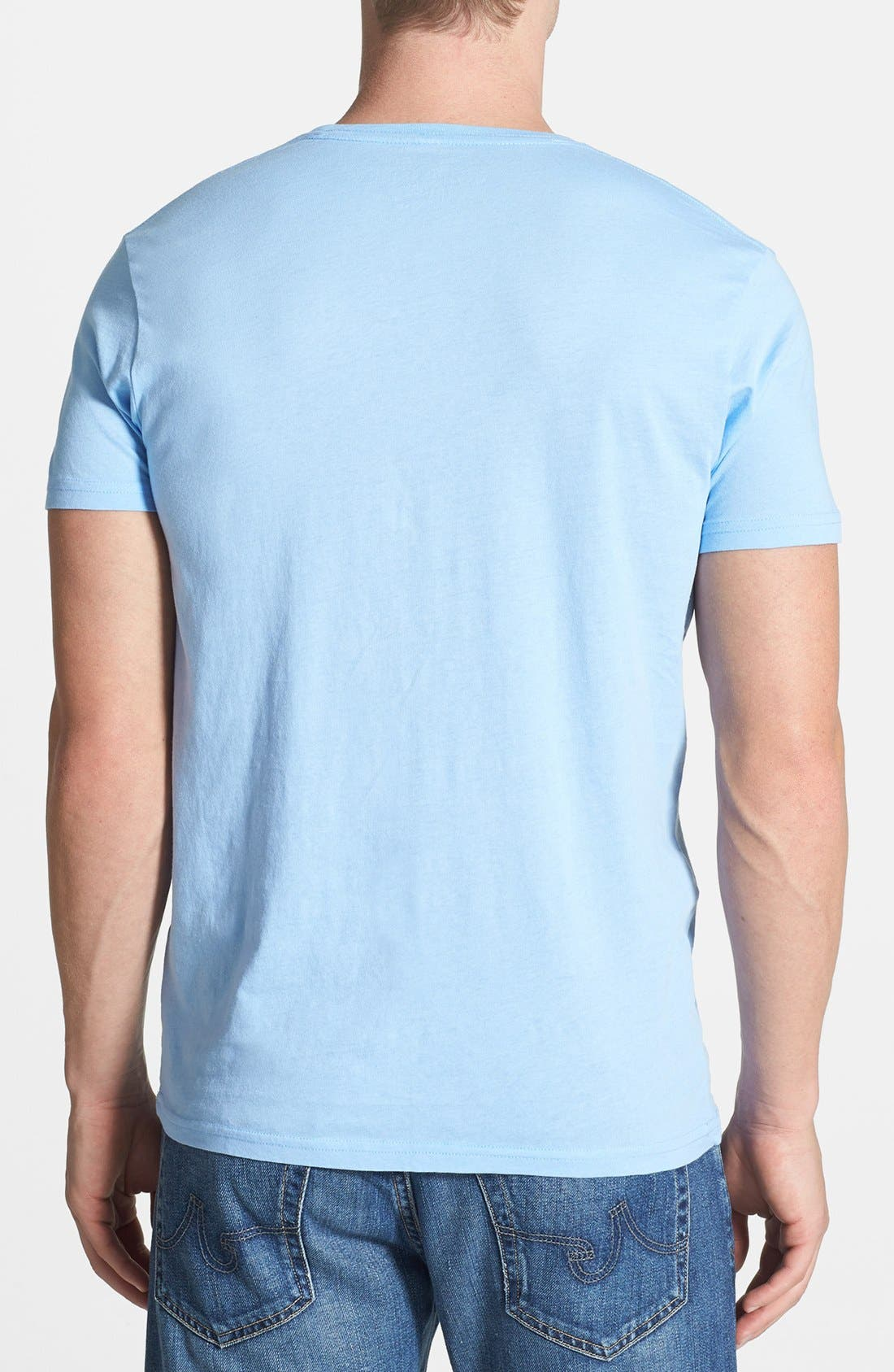 Alternate Image 2  - Retro Brand 'North Carolina Tar Heels' T-Shirt