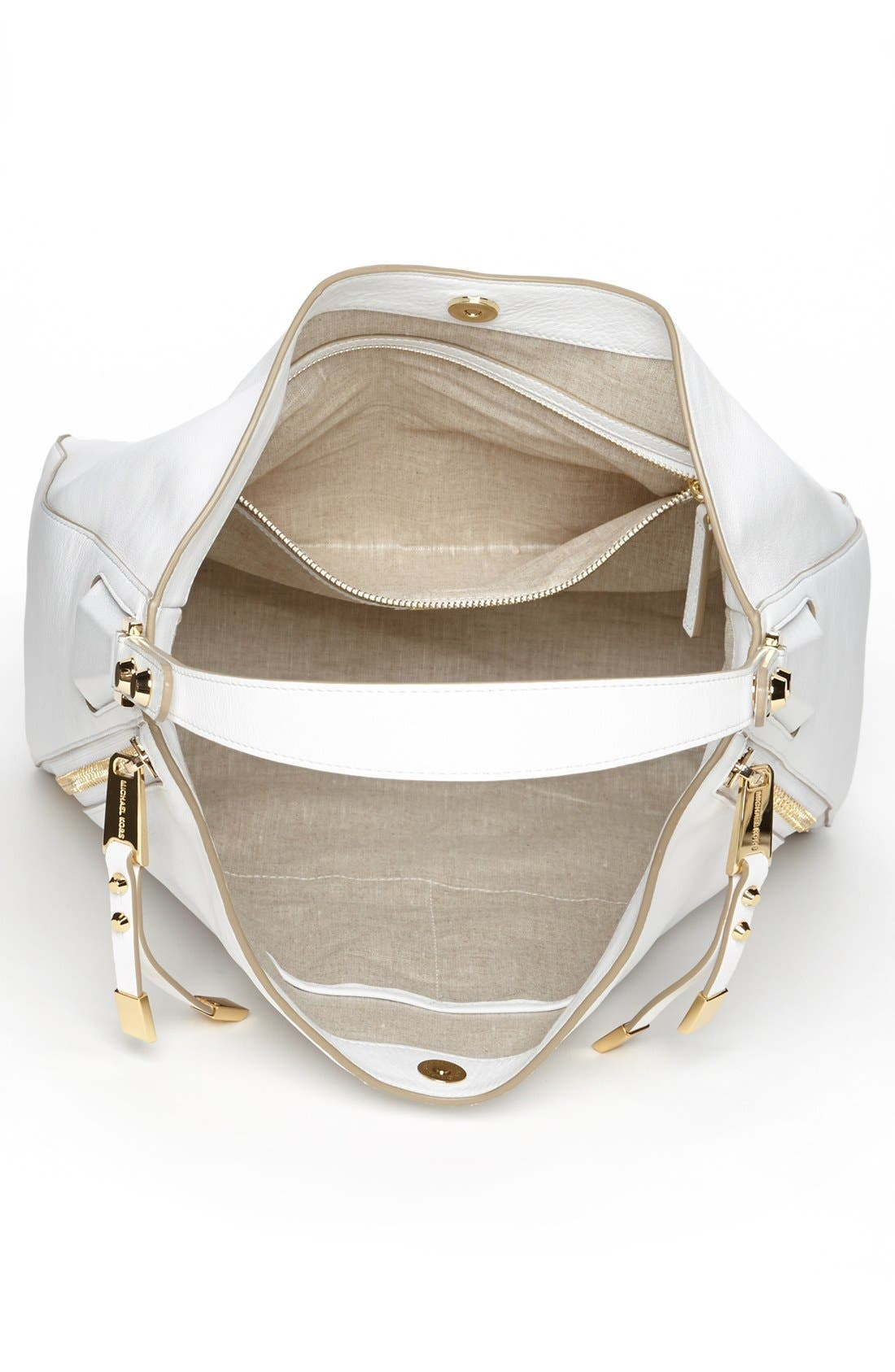 Alternate Image 3  - Michael Kors 'Miranda - Zips' Leather Hobo