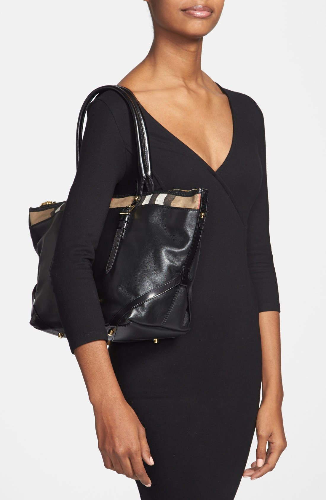 Alternate Image 2  - Burberry 'Small Salisbury' Leather Over Shoulder Tote