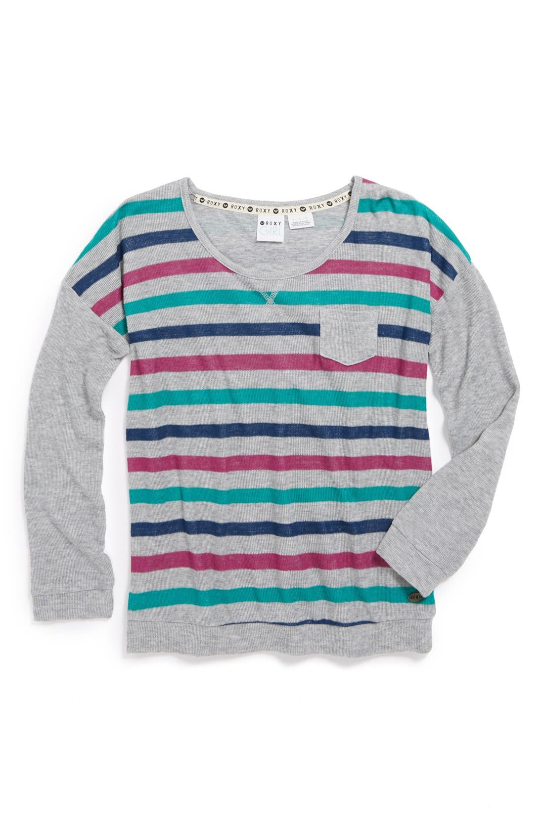 Main Image - Roxy 'Revival' Long Sleeve Tee (Big Girls)