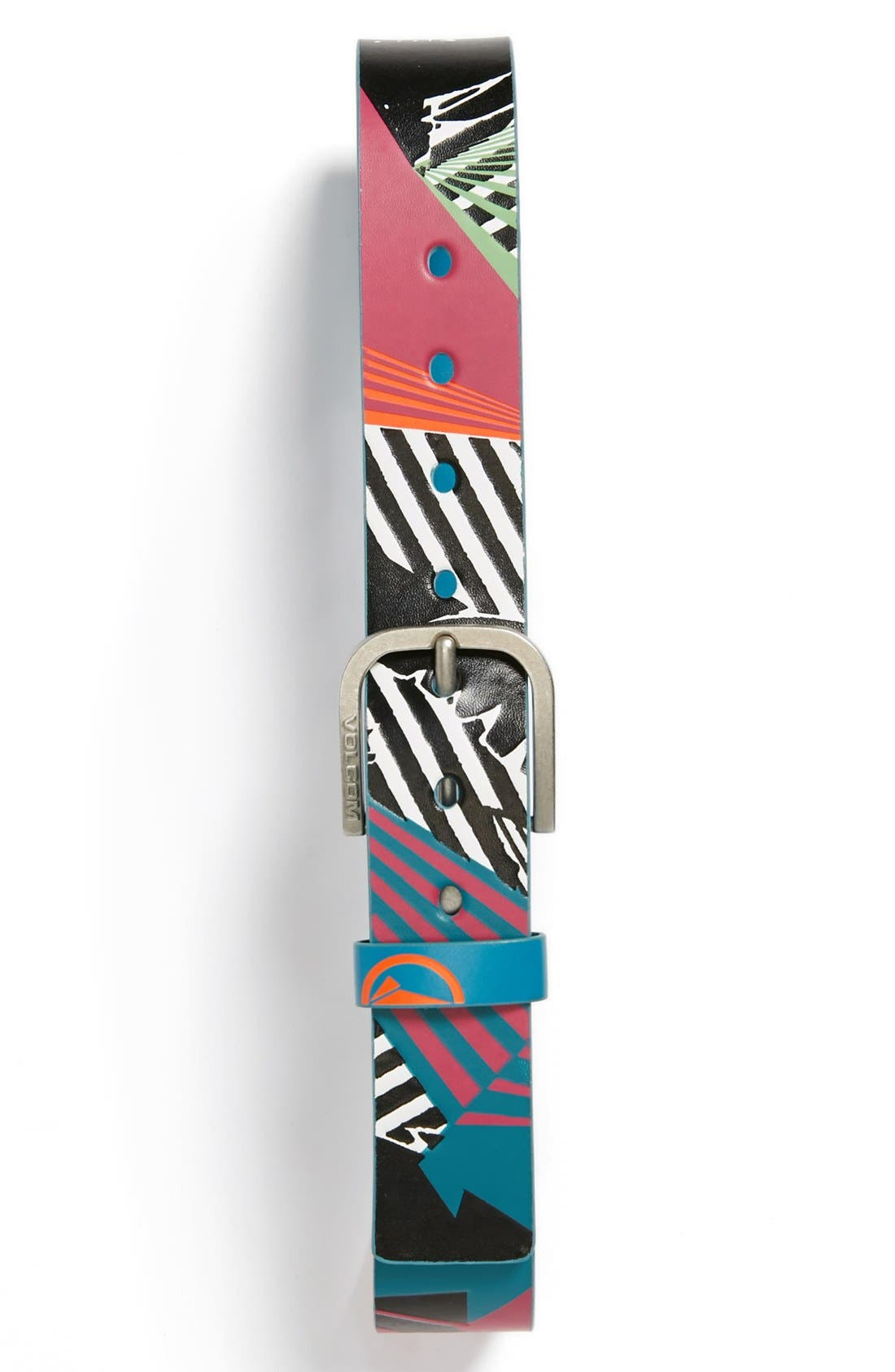 Alternate Image 1 Selected - Volcom 'Reform' Printed Belt (Boys)