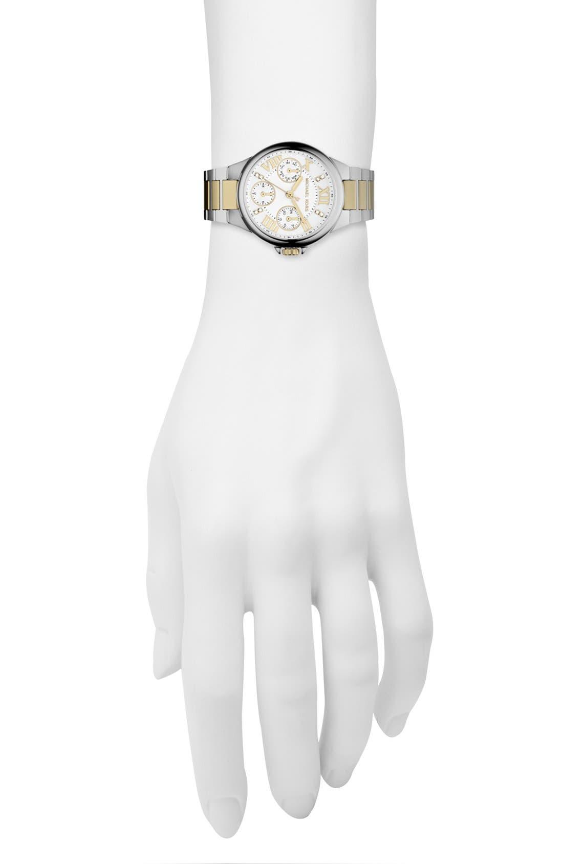 Alternate Image 4  - Michael Kors 'Mini Camille' Bracelet Watch, 33mm
