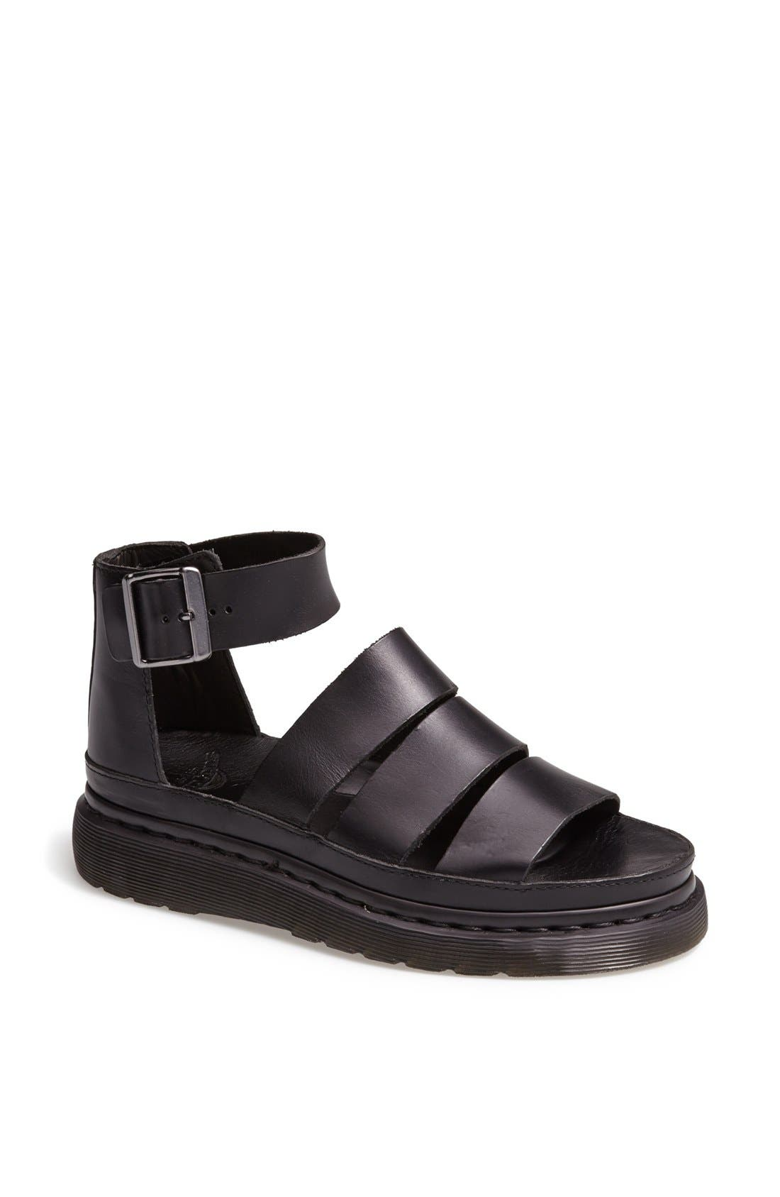 Alternate Image 1 Selected - Dr. Martens 'Clarissa' Leather Sandal