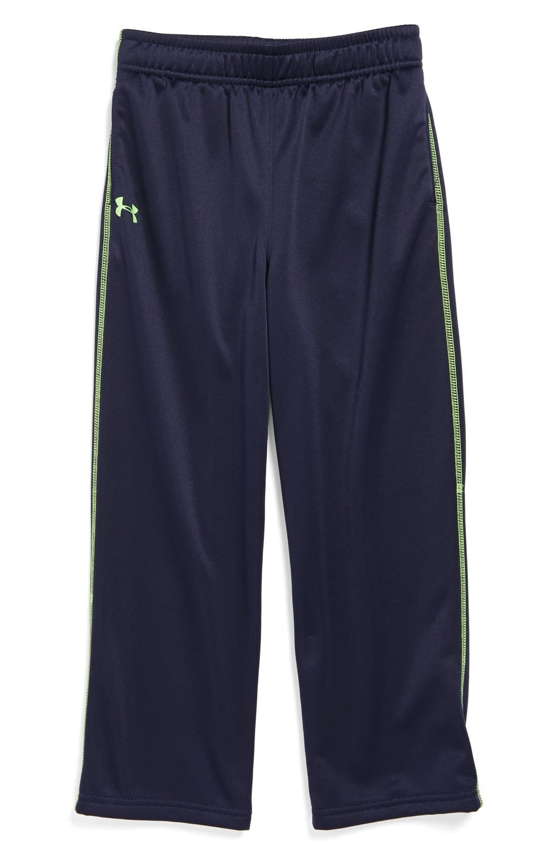 Alternate Image 1 Selected - Under Armour Fleece Lined AllSeasonGear® Pants (Little Boys)