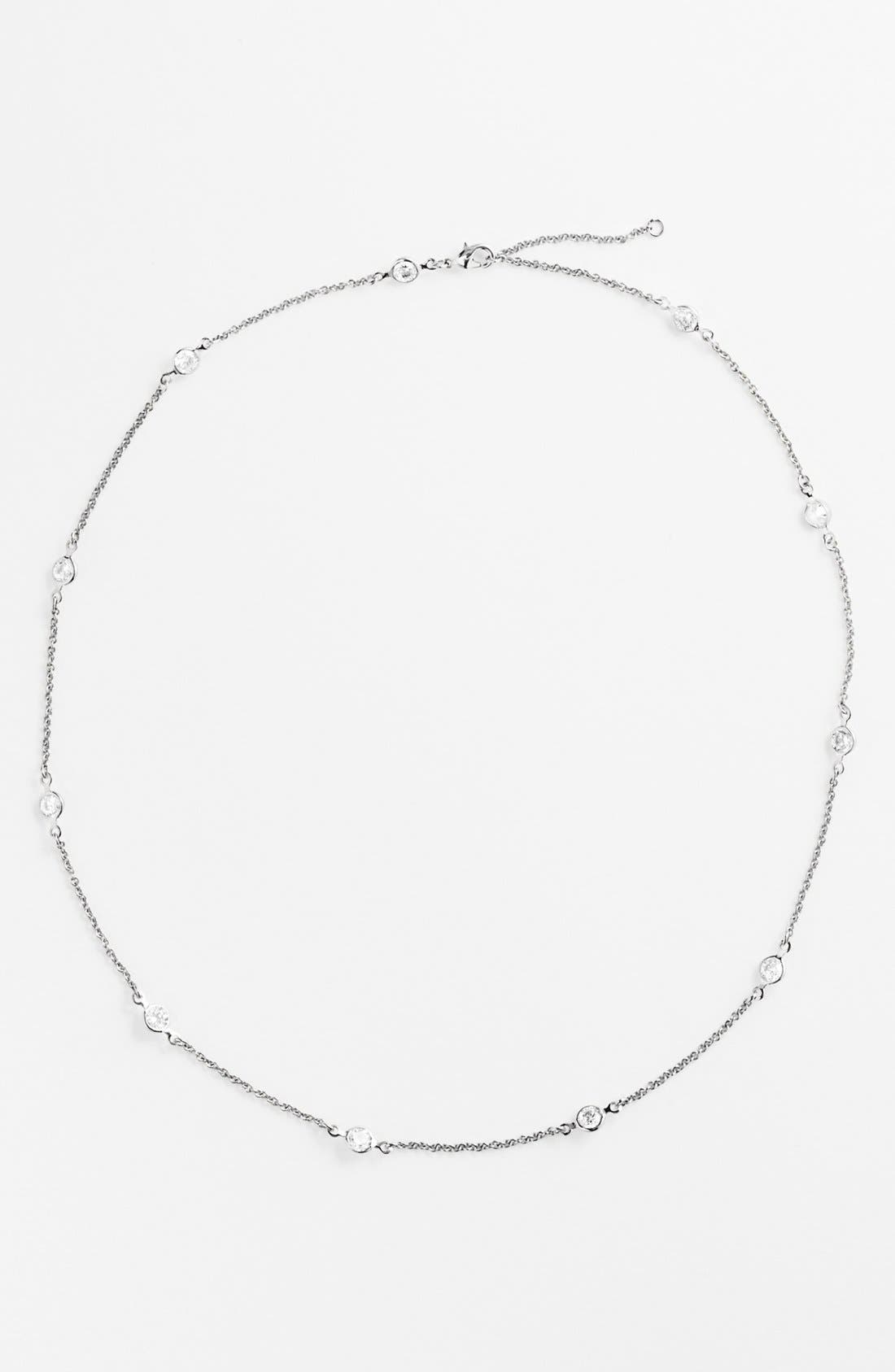 Main Image - Alainn Bezel Station Necklace