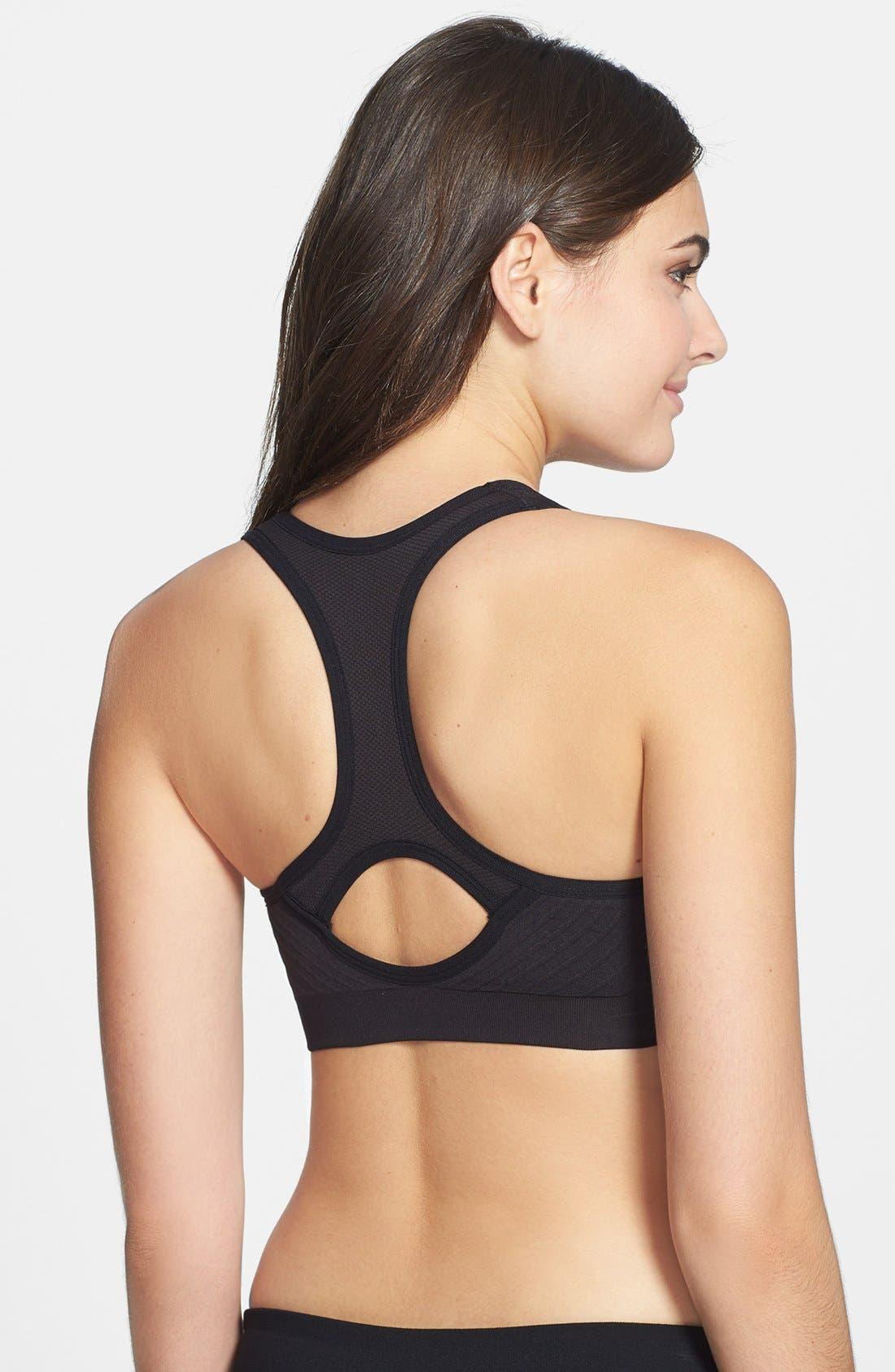 Alternate Image 2  - Make + Model Cutout Sports Bra