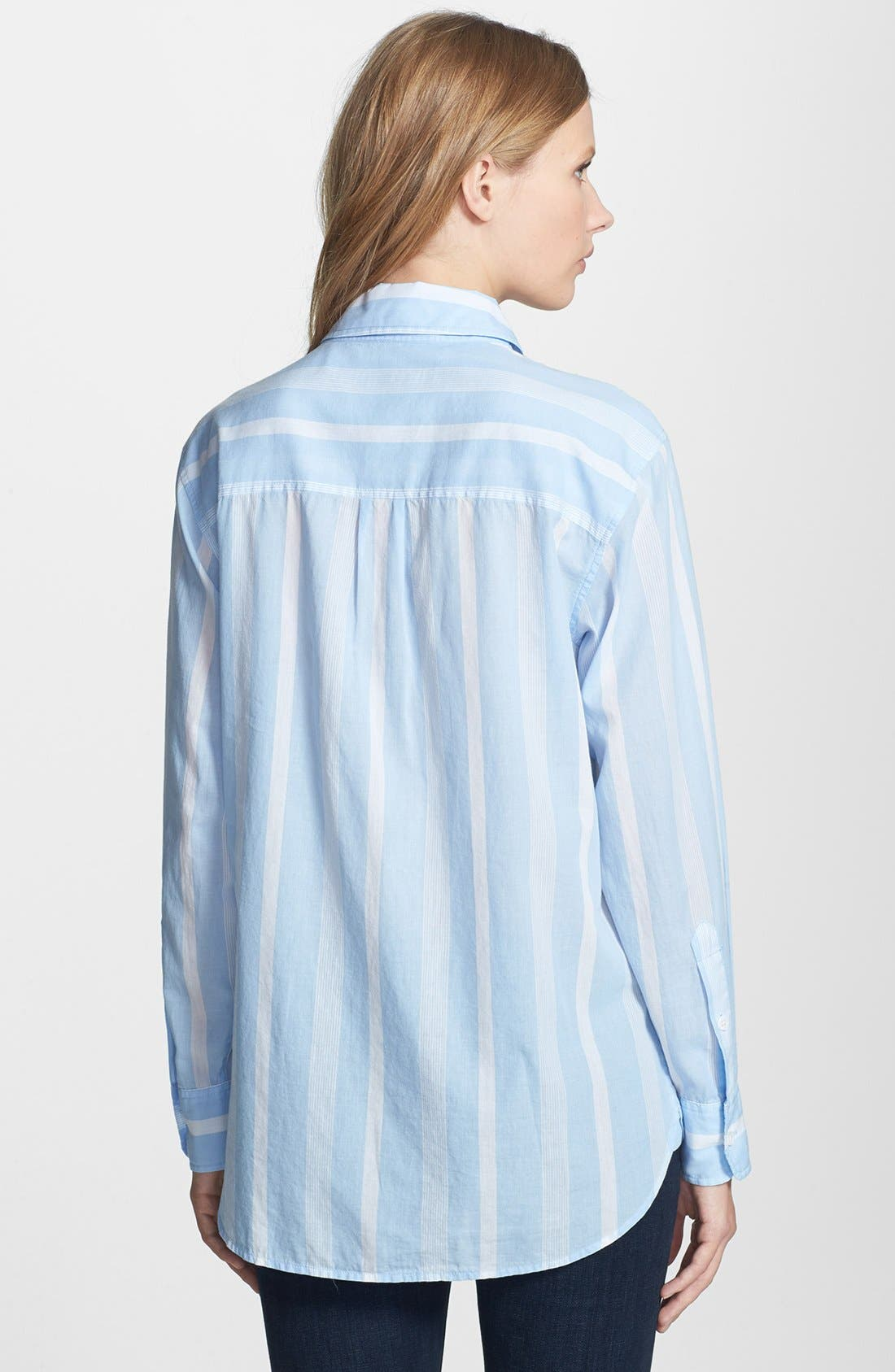 Alternate Image 2  - Equipment 'Margaux' Stripe Cotton Shirt