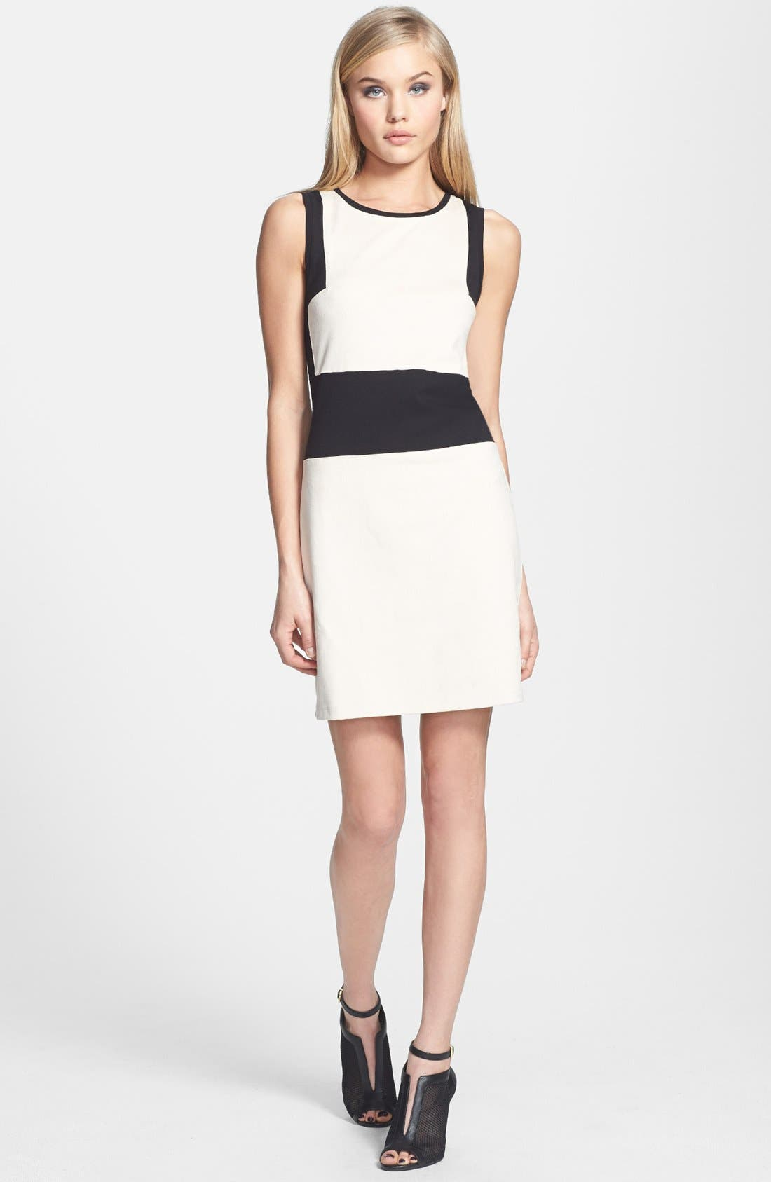 Main Image - Sanctuary Colorblock Sheath Dress