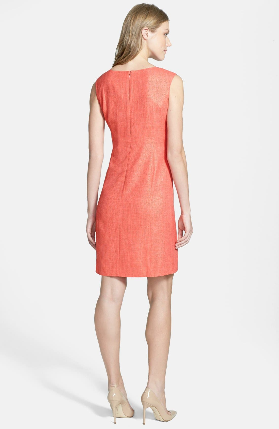 Alternate Image 3  - Ellen Tracy Foiled Sheath Dress