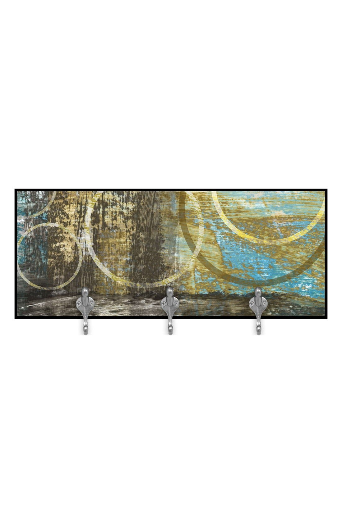 Alternate Image 1 Selected - Green Leaf Art 'Golden View' Decorative Wall Hooks