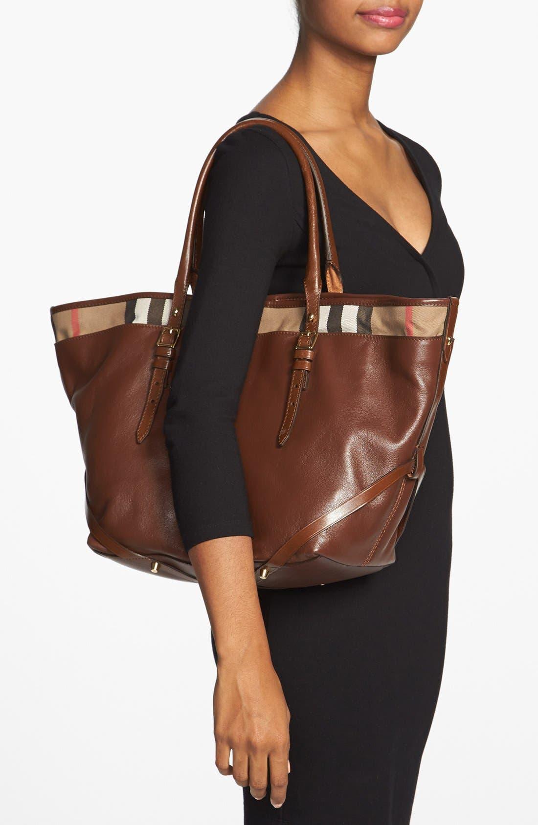 Alternate Image 2  - Burberry 'Medium Salisbury' Leather Tote