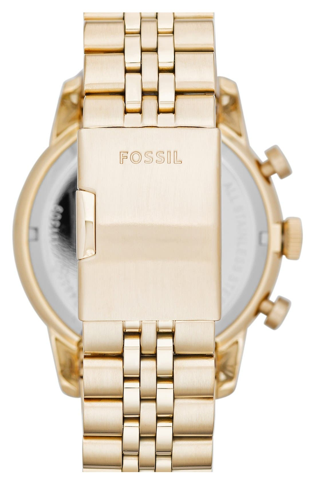 Alternate Image 2  - Fossil 'Townsman' Chronograph Bracelet Watch, 48mm