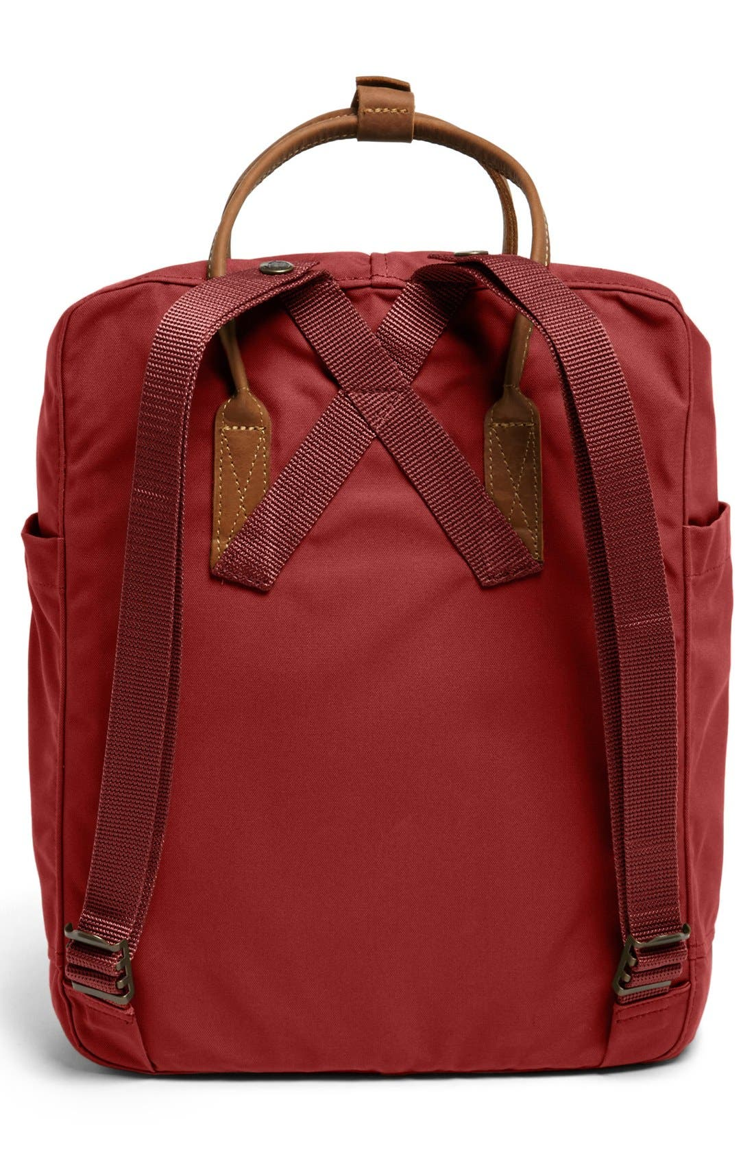 'Kånken No. 2' Backpack,                             Alternate thumbnail 4, color,                             Deep Red