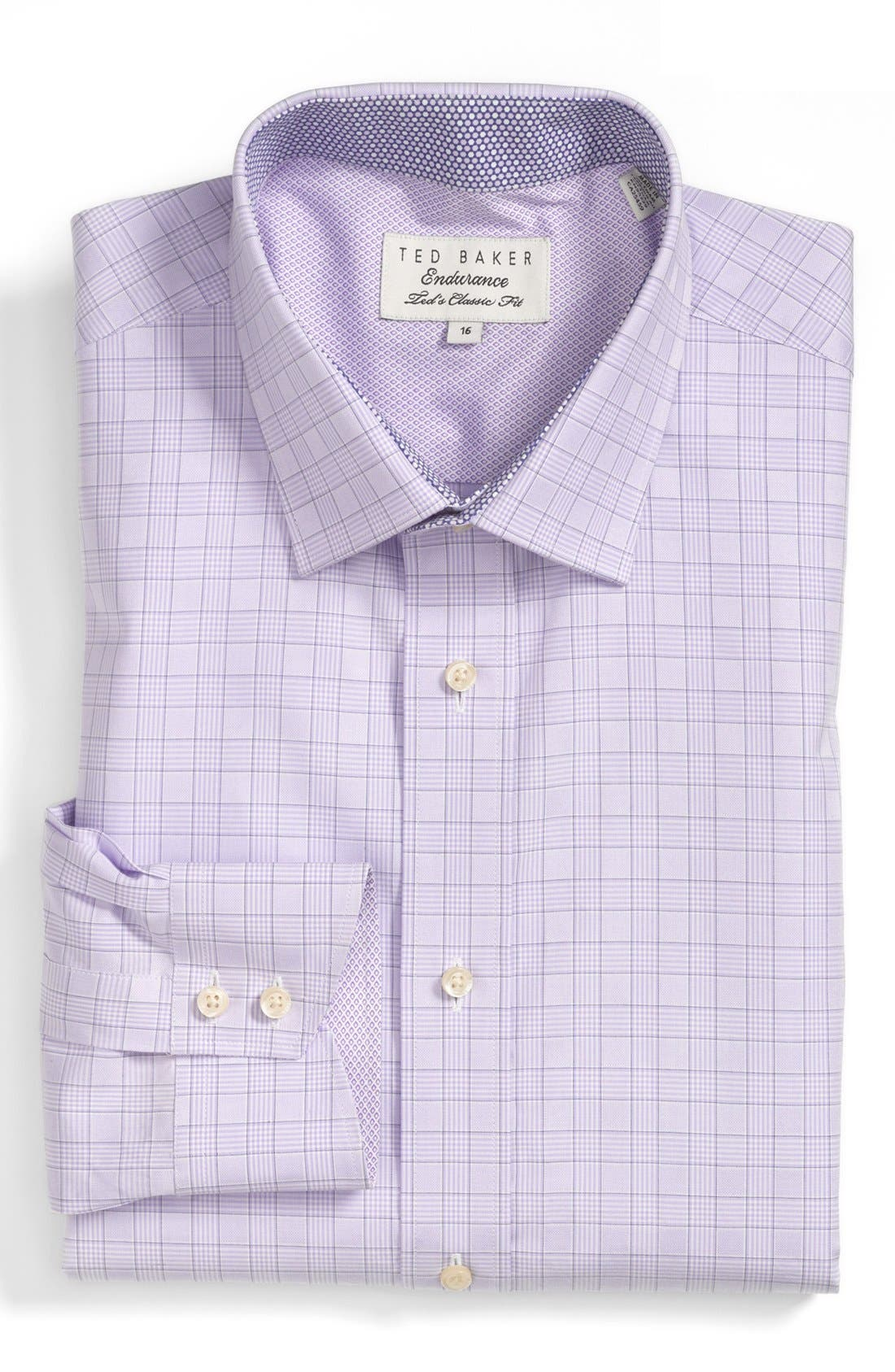 Alternate Image 1 Selected - Ted Baker London Extra Trim Fit Dress Shirt