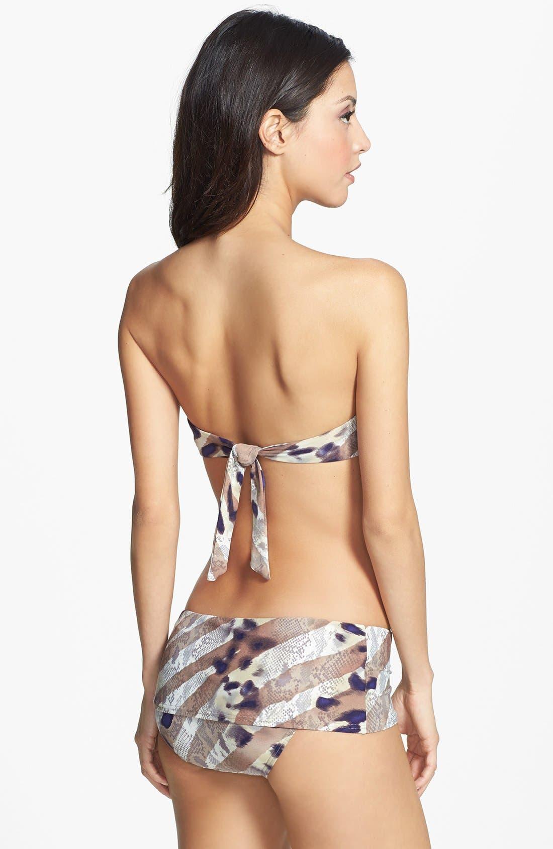 Alternate Image 4  - Vince Camuto 'Marrakech Bazaar' Skirted Bikini Bottoms