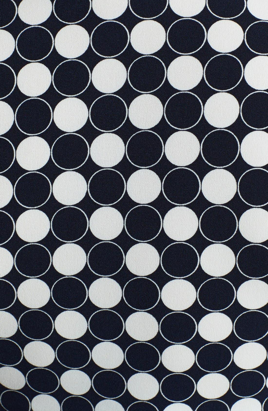 Alternate Image 3  - Vince Camuto 'Retro Dots' V-Neck Top (Regular & Petite)
